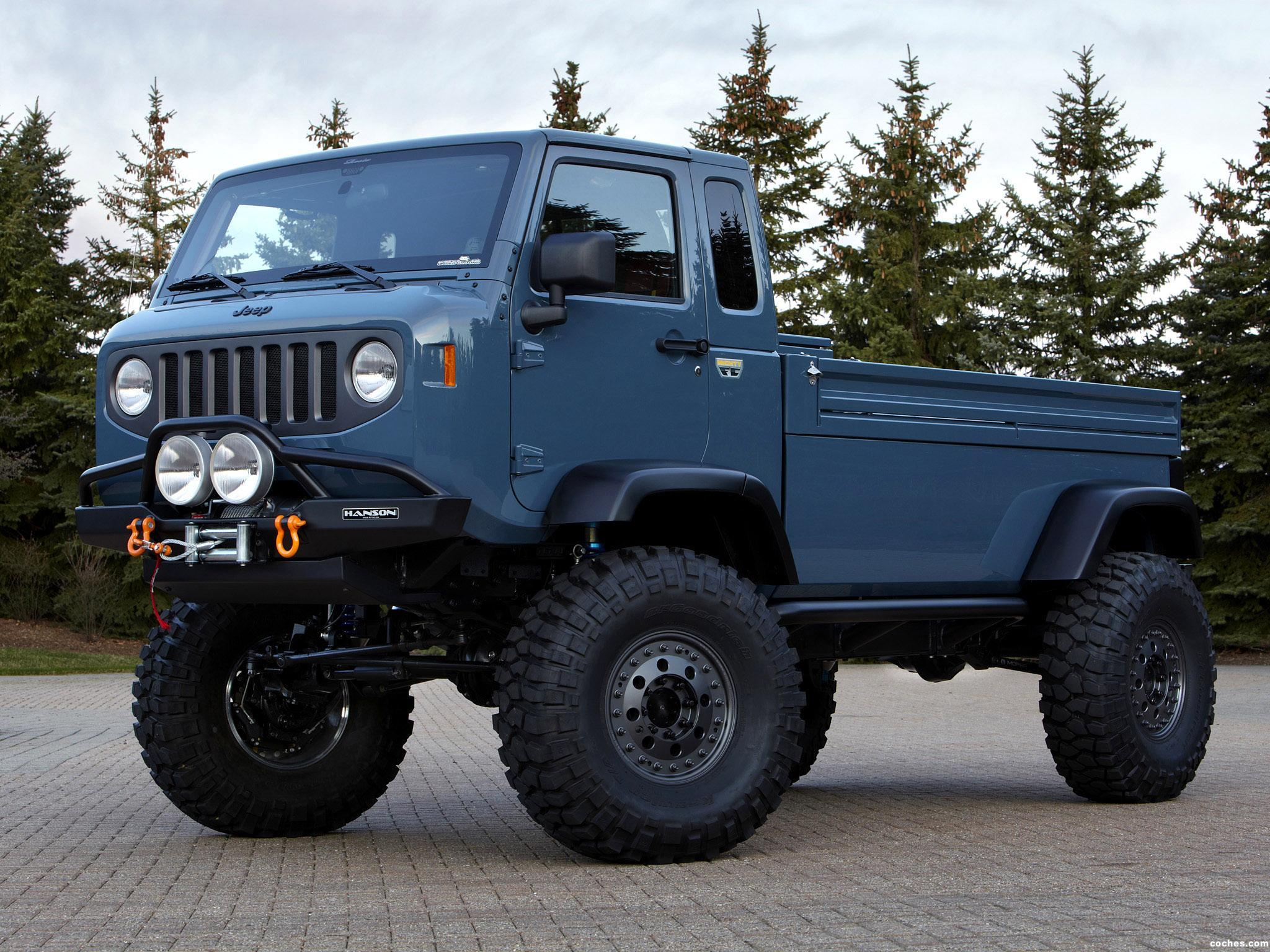Foto 0 de Jeep Mighty FC Concept 2012