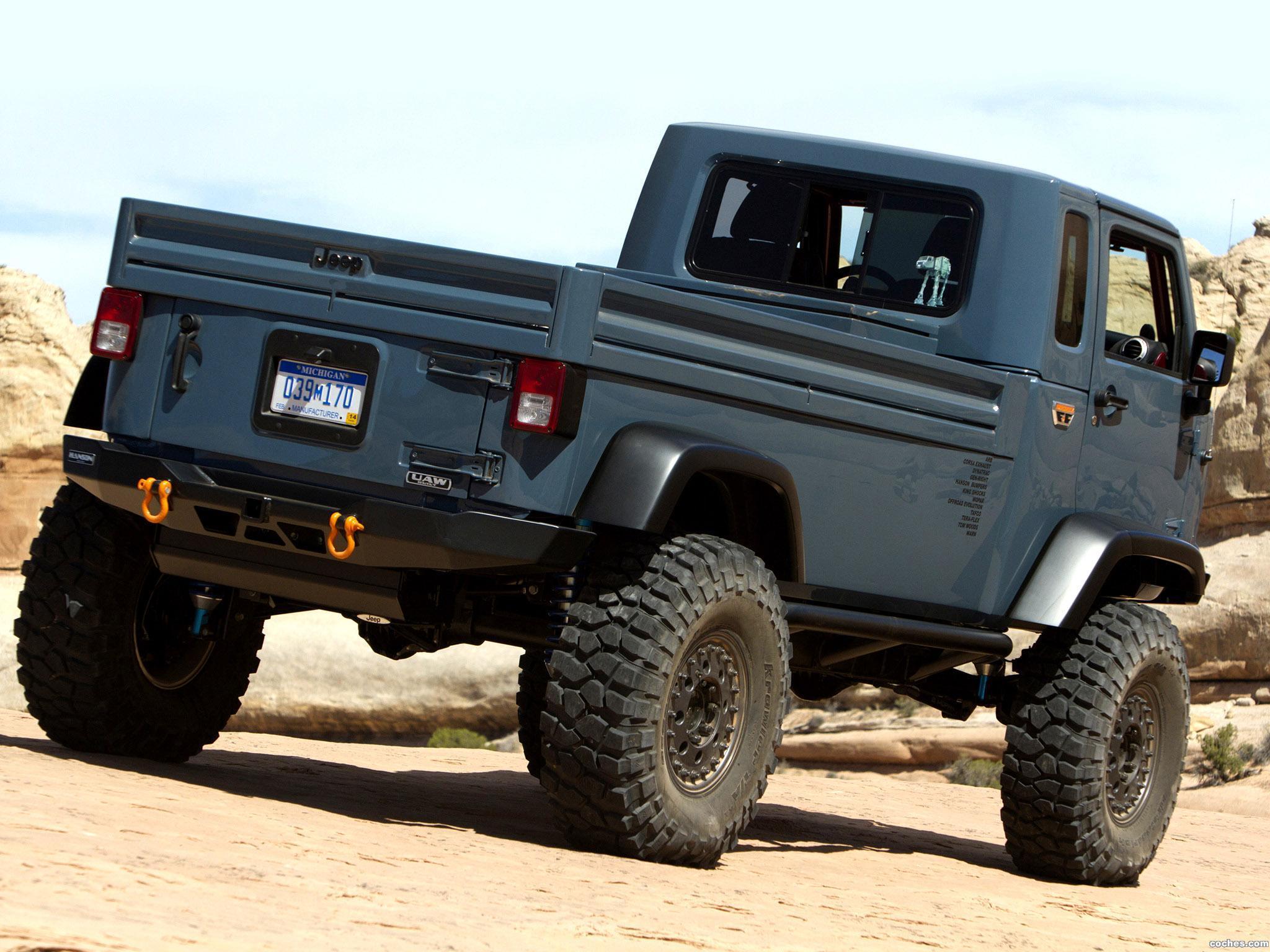 Foto 4 de Jeep Mighty FC Concept 2012