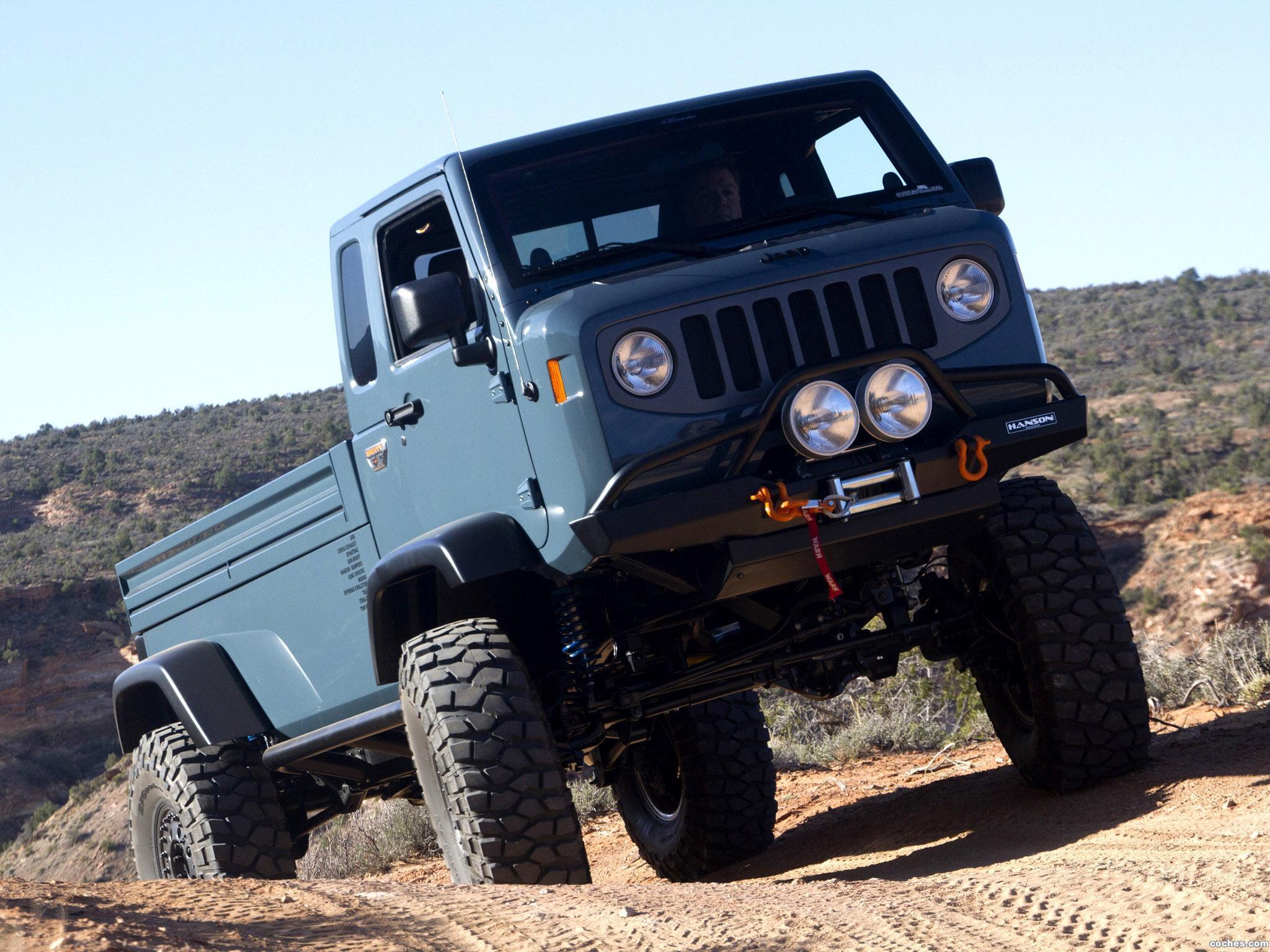 Foto 2 de Jeep Mighty FC Concept 2012