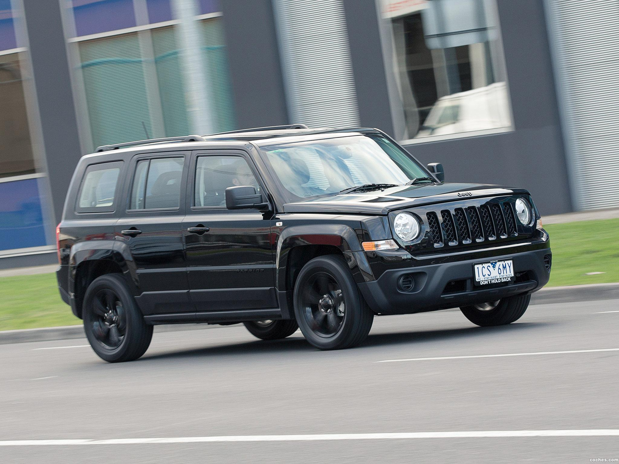 Foto 9 de Jeep Patriot Blackhawk 2015