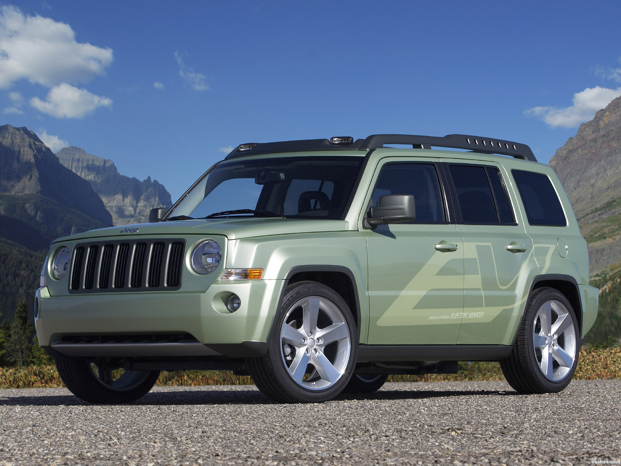 Foto 0 de Jeep Patriot EV Concept 2009