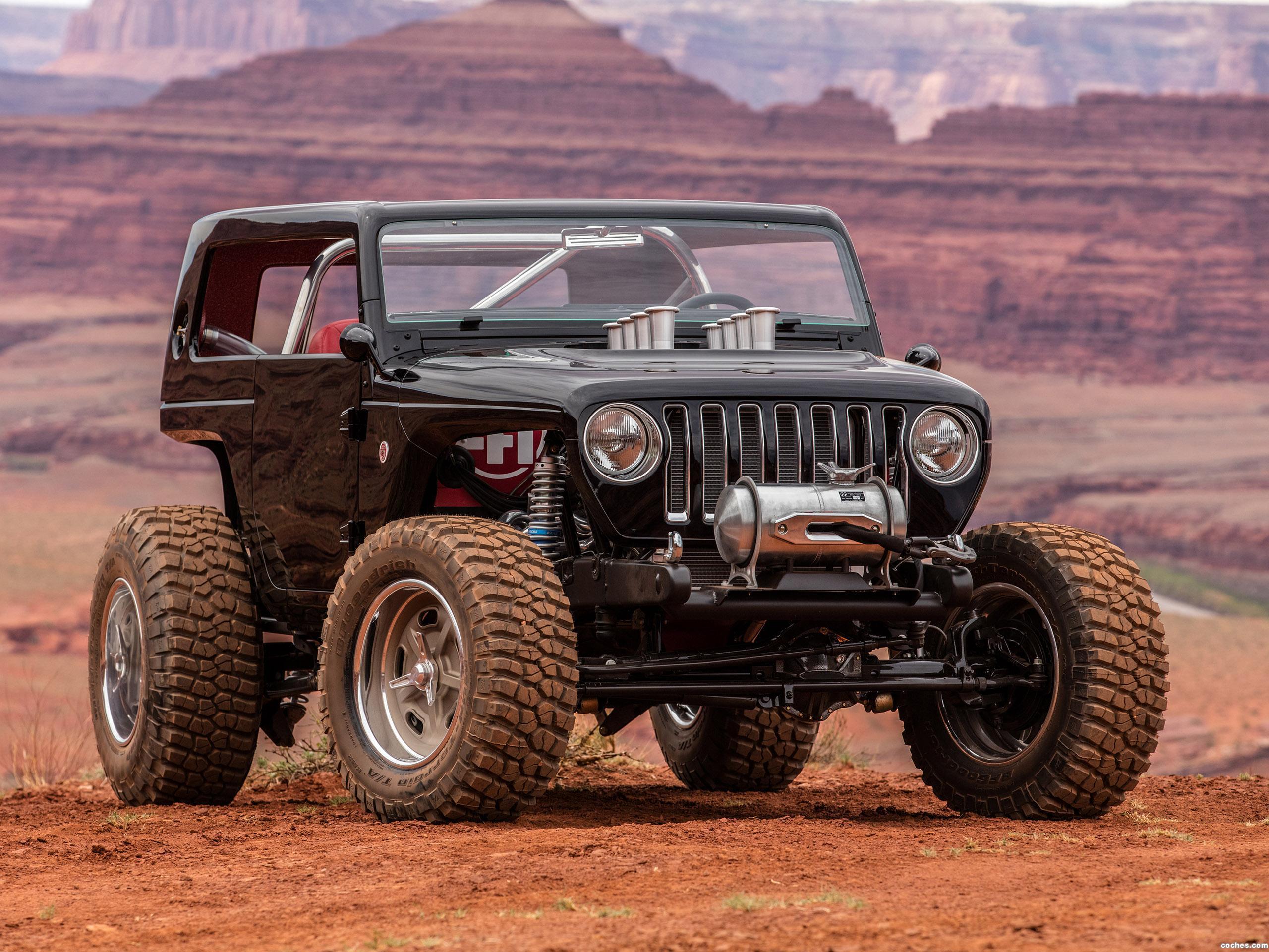 Foto 0 de Jeep Quicksand Concept 2017