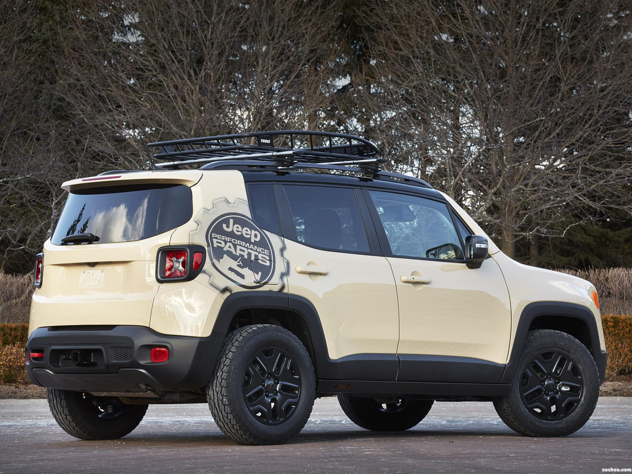 Foto 1 de Jeep Renegade Desert Hawk Concept 2015