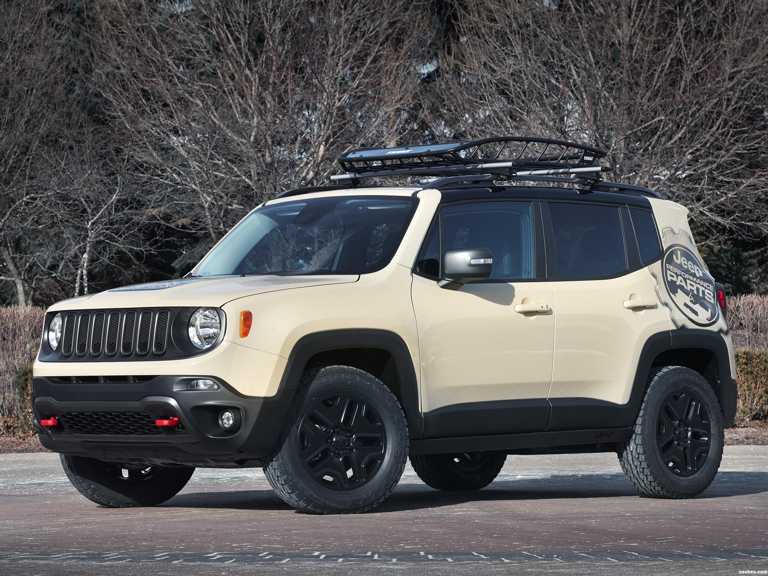 Foto 0 de Jeep Renegade Desert Hawk Concept 2015