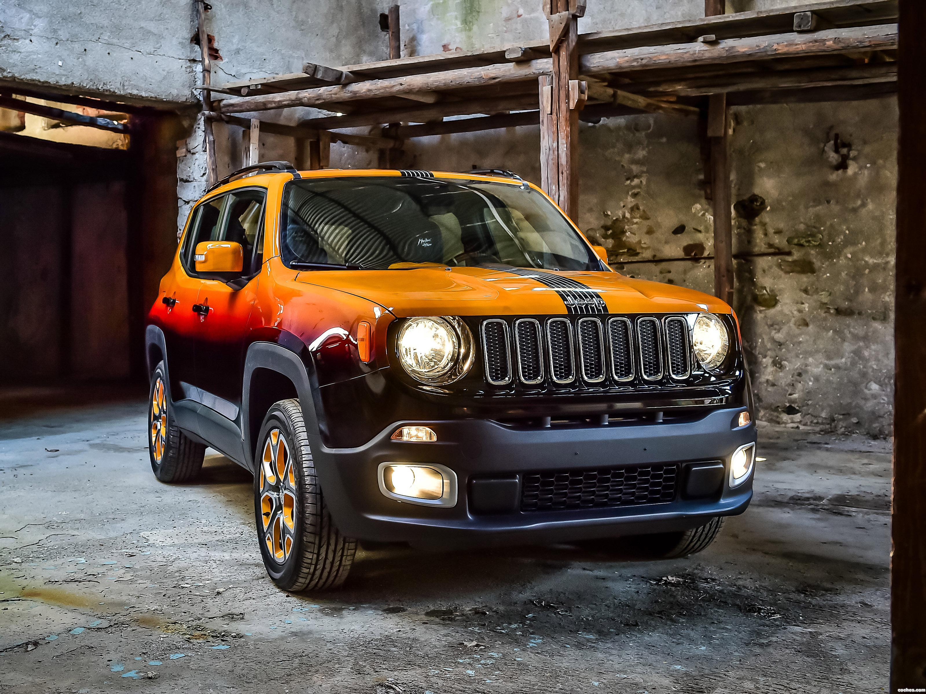 Foto 0 de Jeep Renegade Montreux Jazz Festival Showcar by Garage Italia Customs 2015