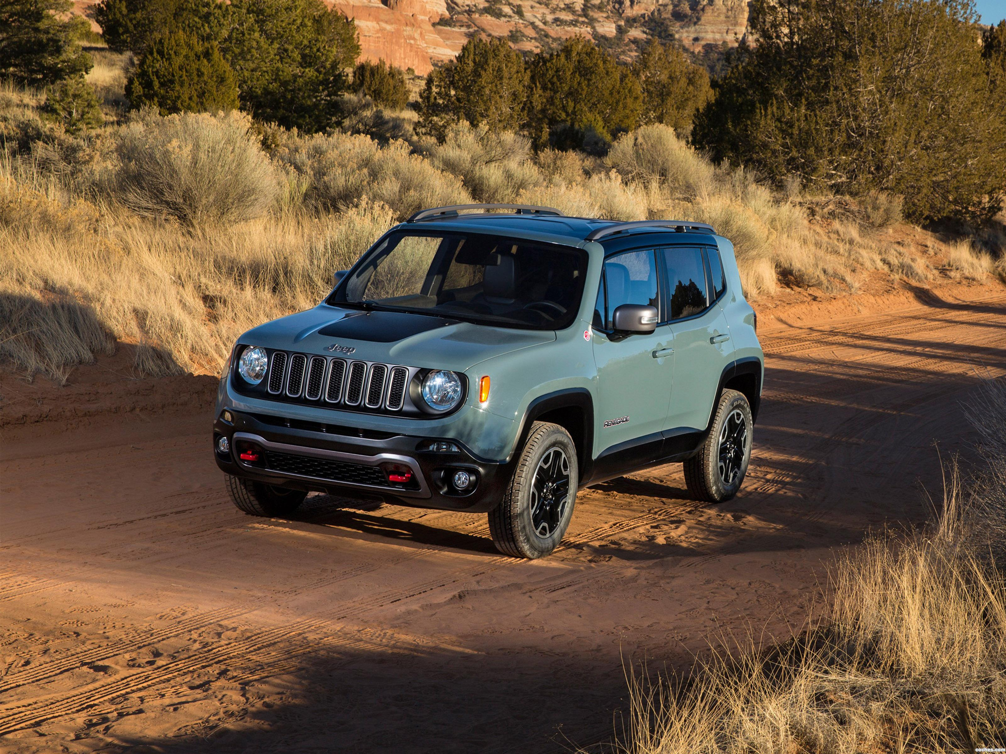 Foto 0 de Jeep Renegade Trailhawk 2014