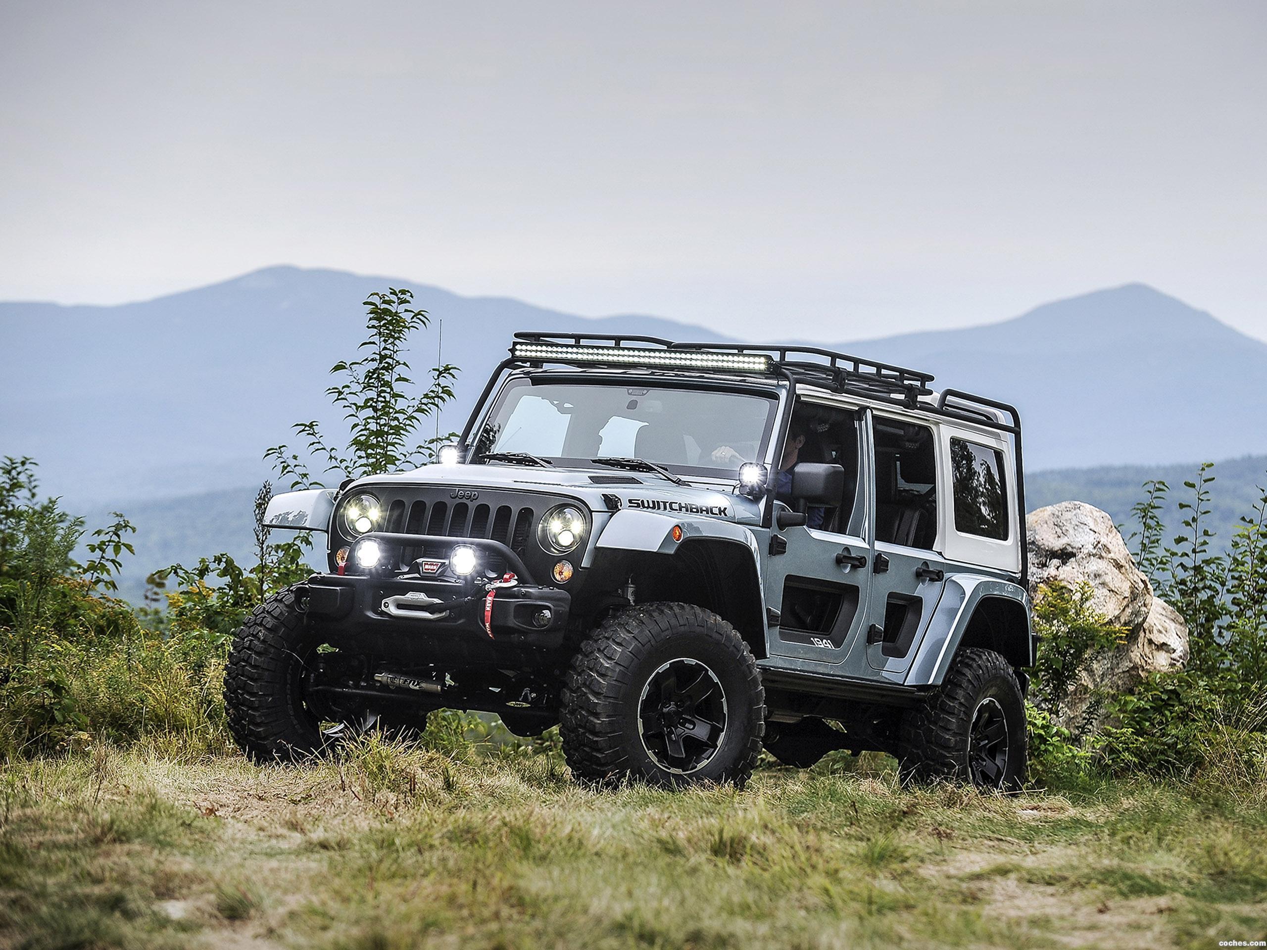 Foto 0 de Jeep Switchback Concept 2017