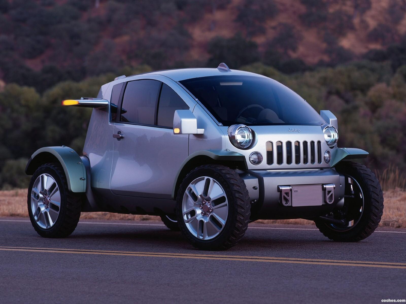 Foto 0 de Jeep Treo Concept 2004