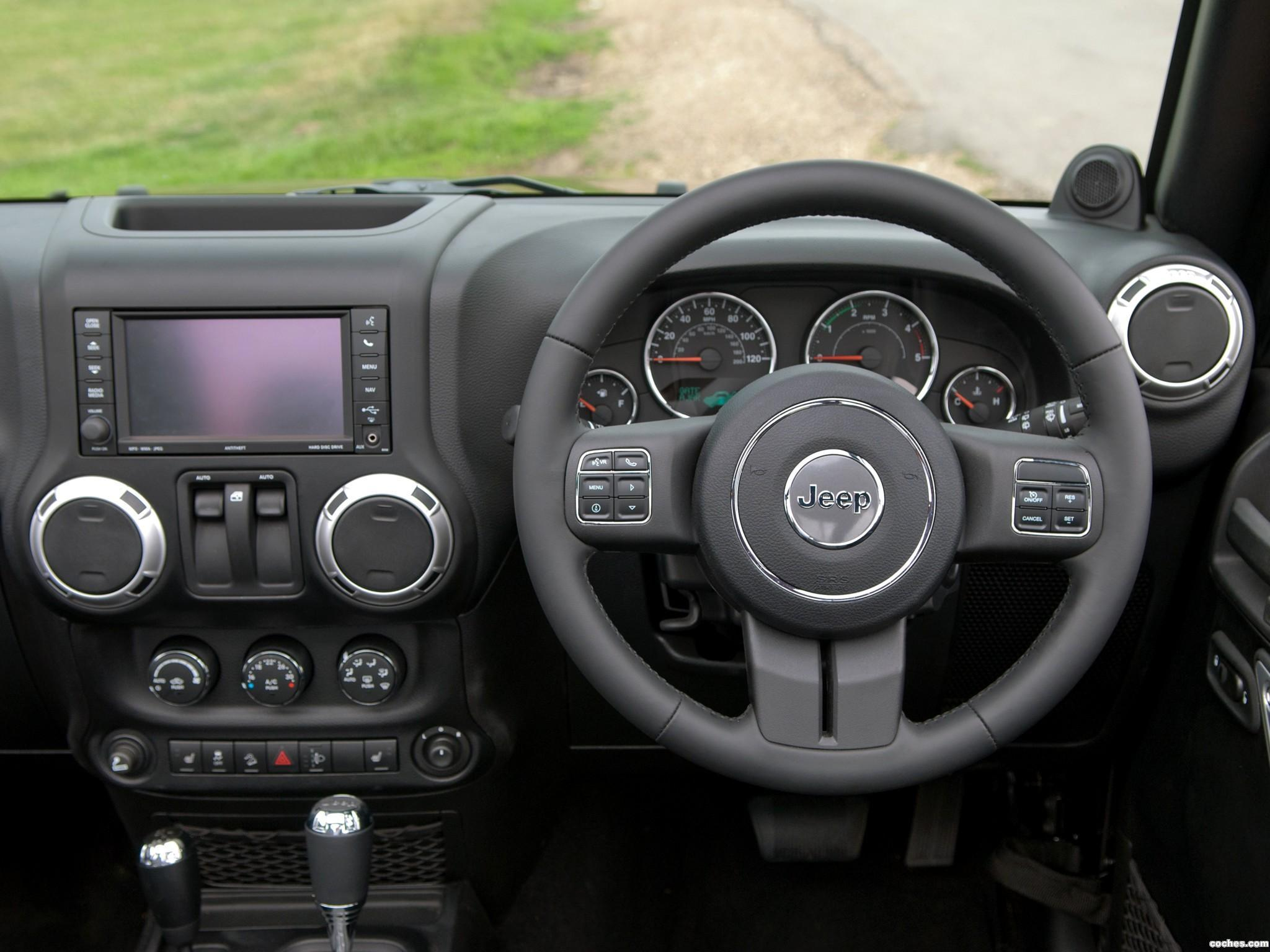 Foto 11 de Jeep Wrangler 70 Aniversario UK 2011