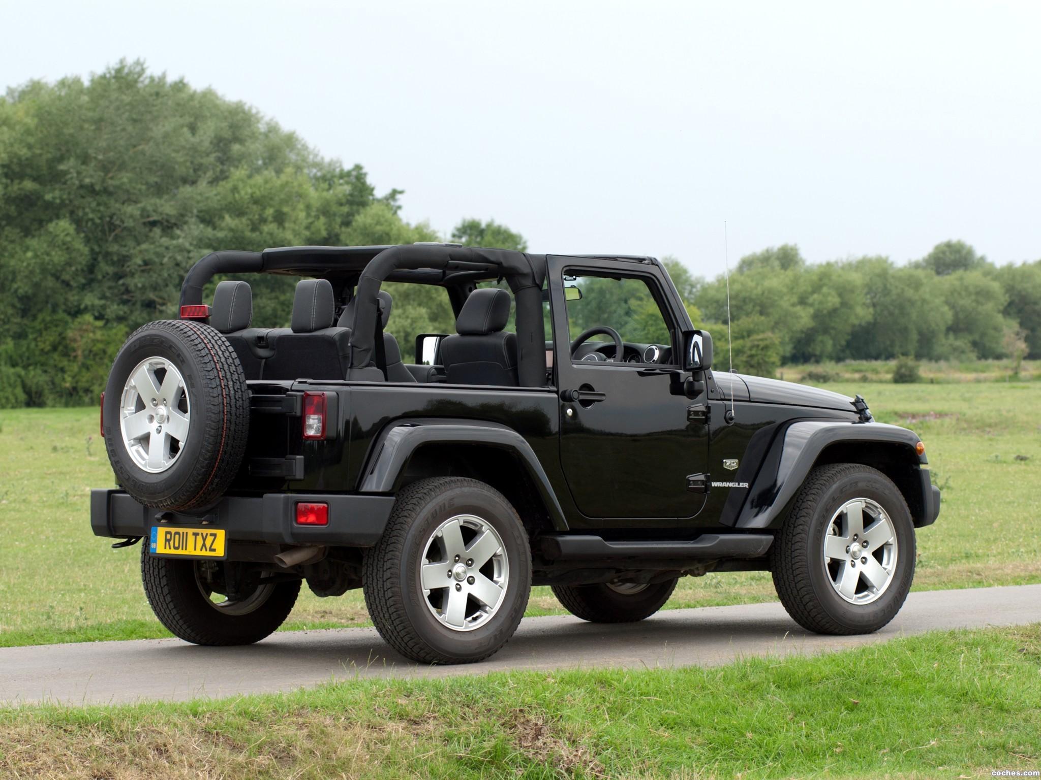 Foto 10 de Jeep Wrangler 70 Aniversario UK 2011