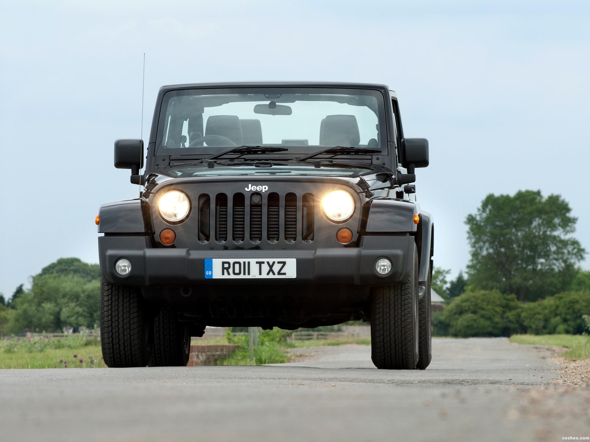 Foto 9 de Jeep Wrangler 70 Aniversario UK 2011