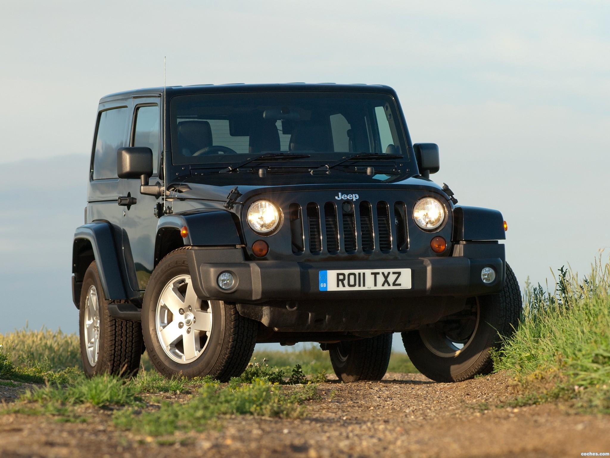 Foto 6 de Jeep Wrangler 70 Aniversario UK 2011