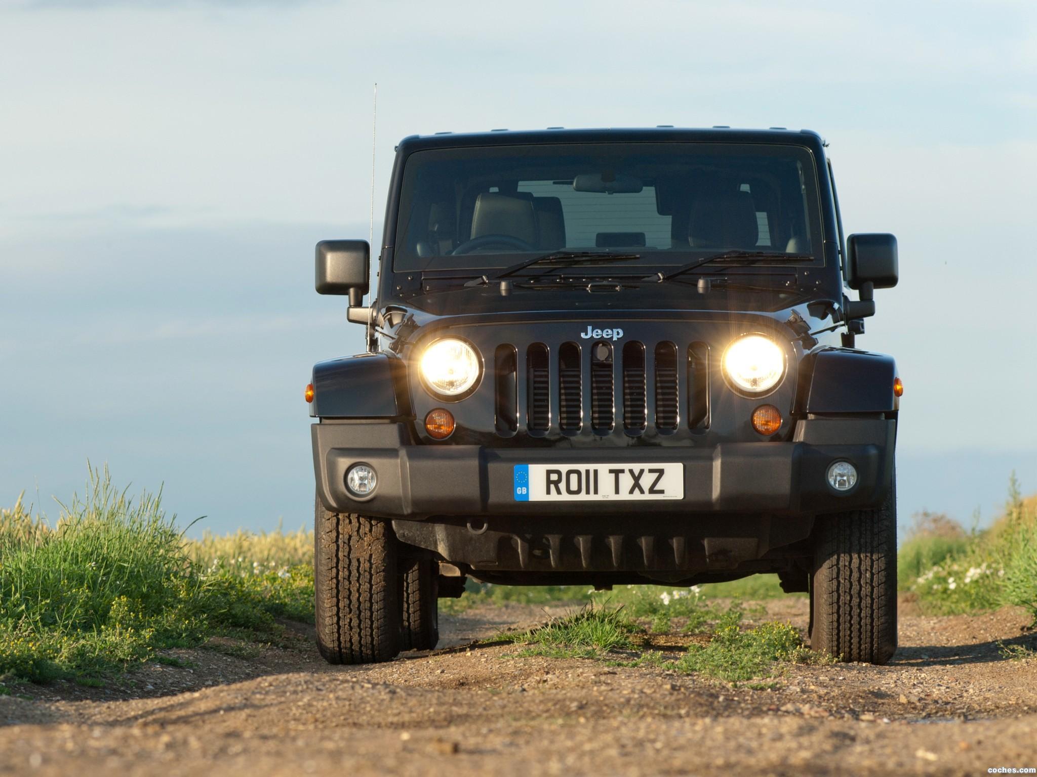 Foto 5 de Jeep Wrangler 70 Aniversario UK 2011