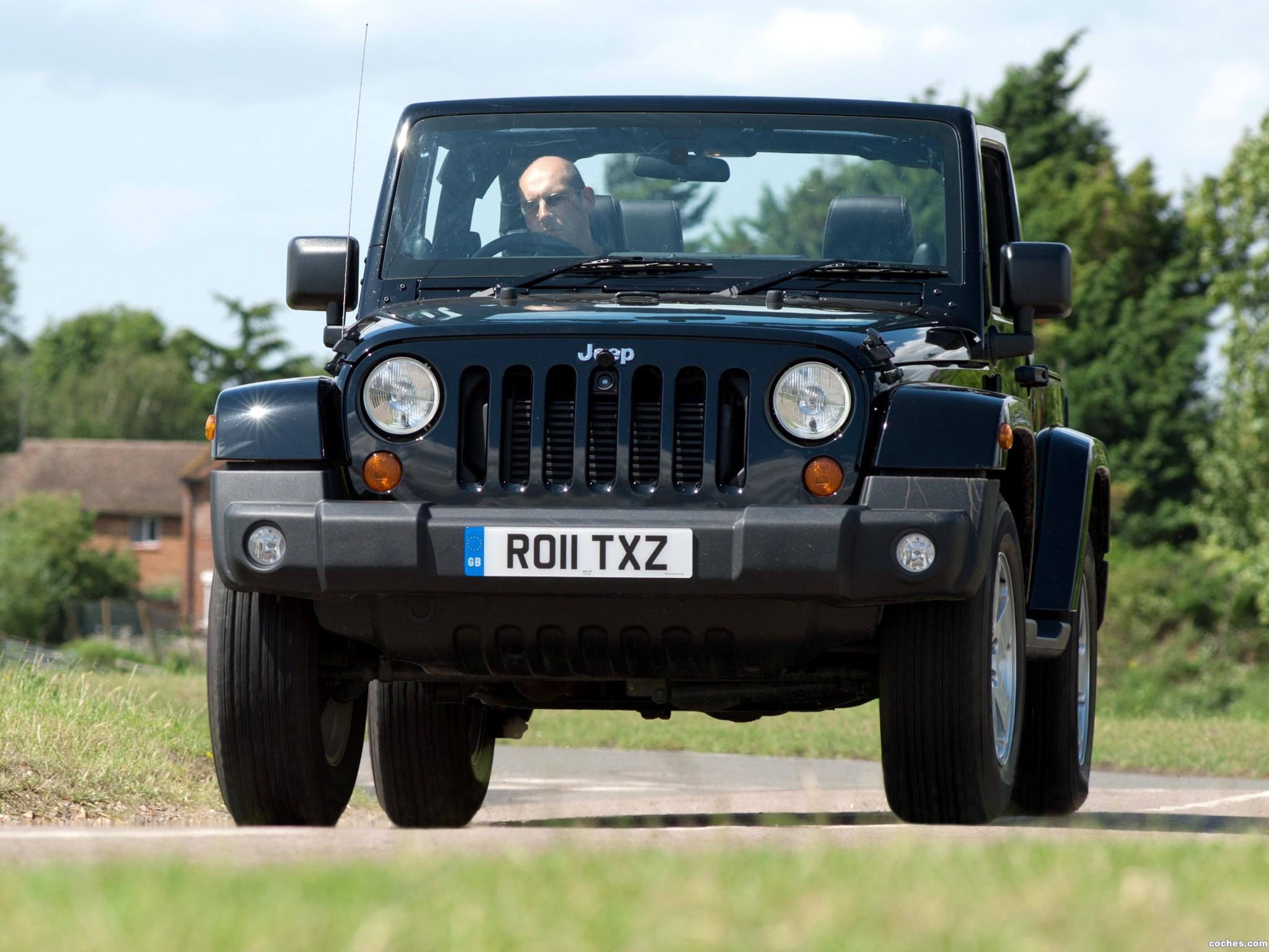 Foto 4 de Jeep Wrangler 70 Aniversario UK 2011