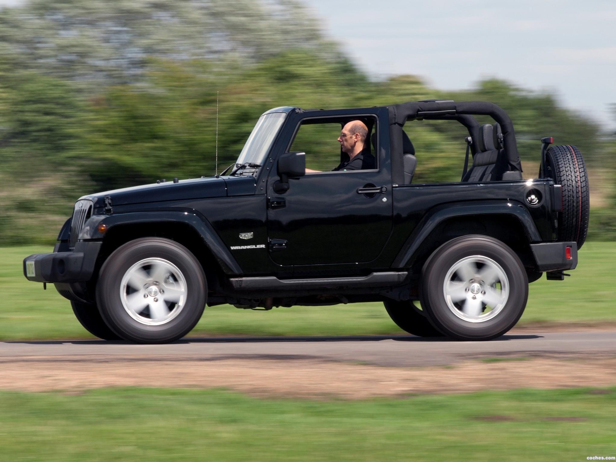 Foto 3 de Jeep Wrangler 70 Aniversario UK 2011