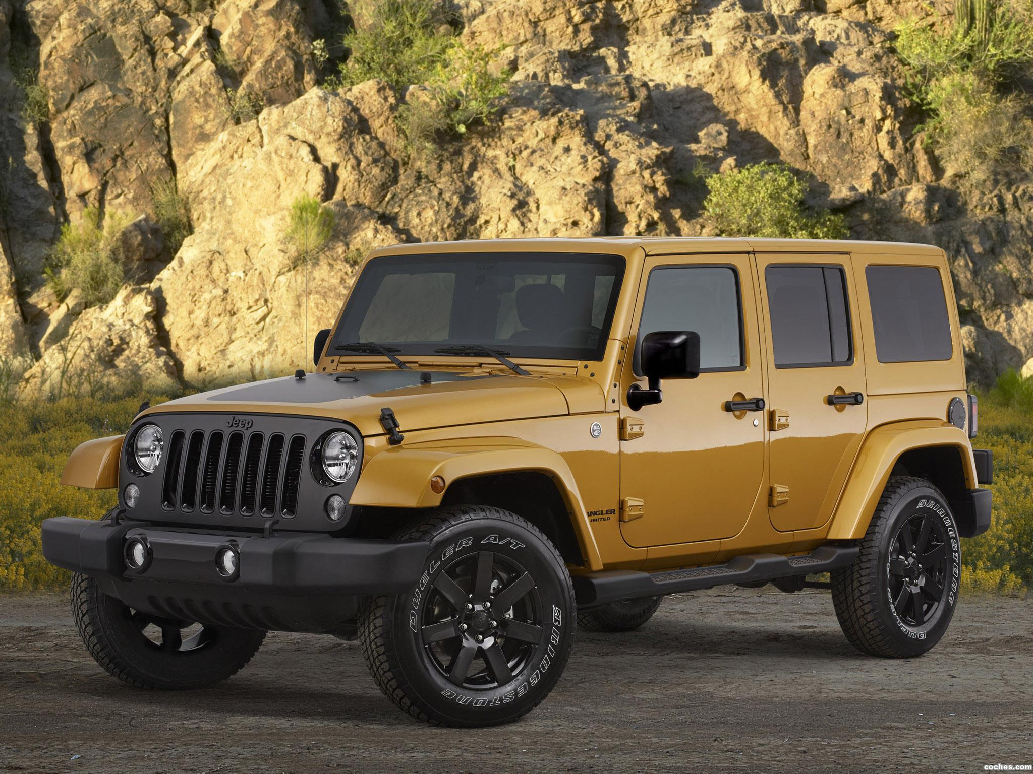 Foto 0 de Jeep Wrangler Altitude 2014
