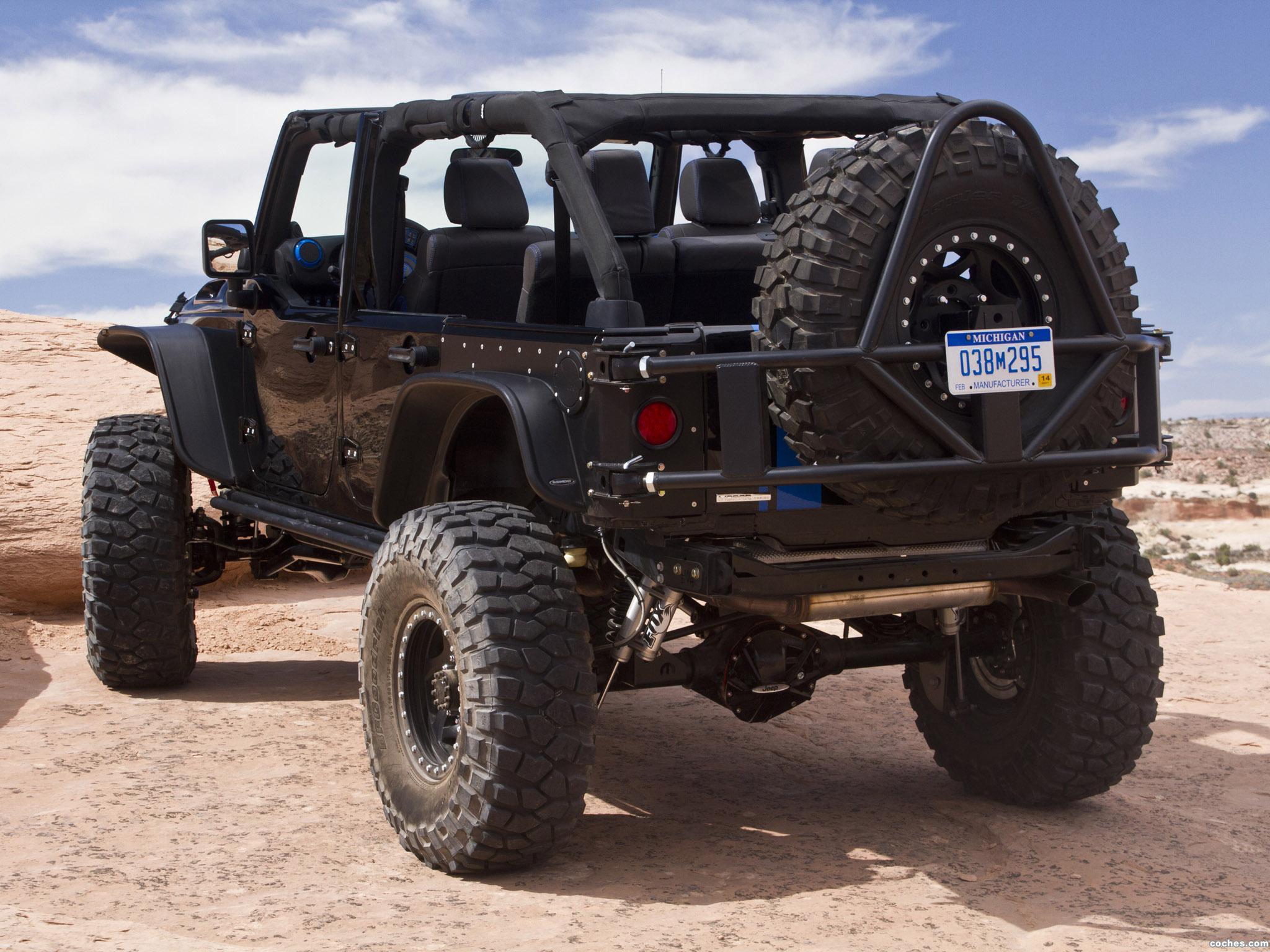 Foto 5 de Jeep Wrangler Apache Concept 2012