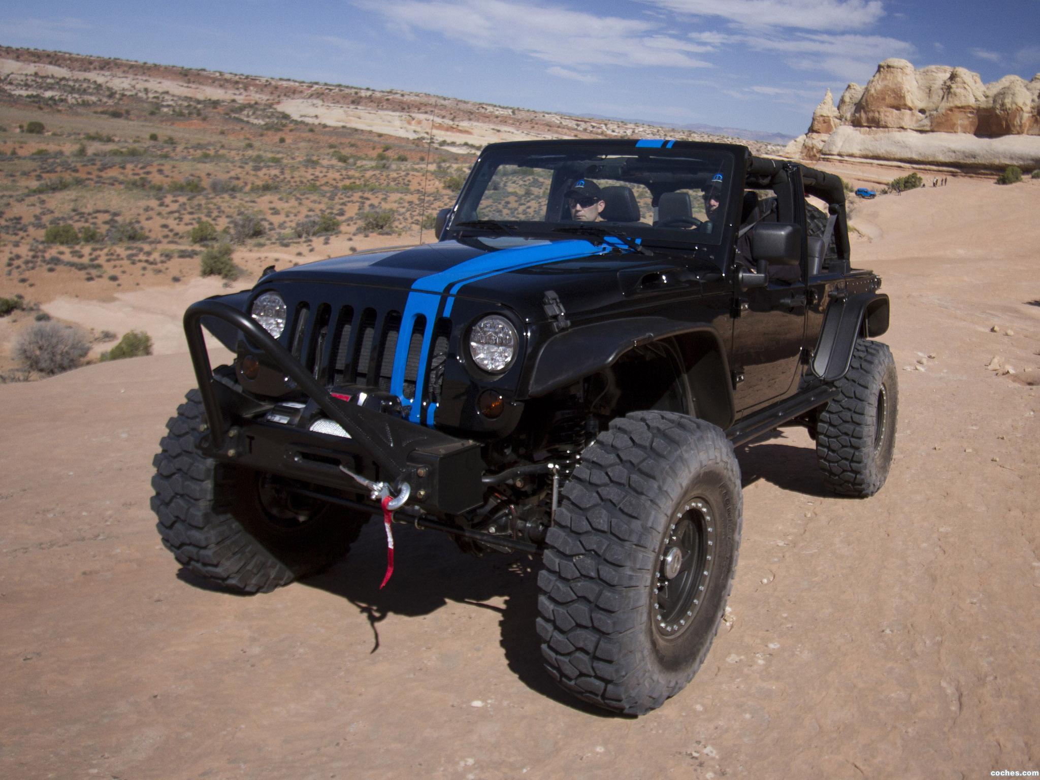 Foto 2 de Jeep Wrangler Apache Concept 2012