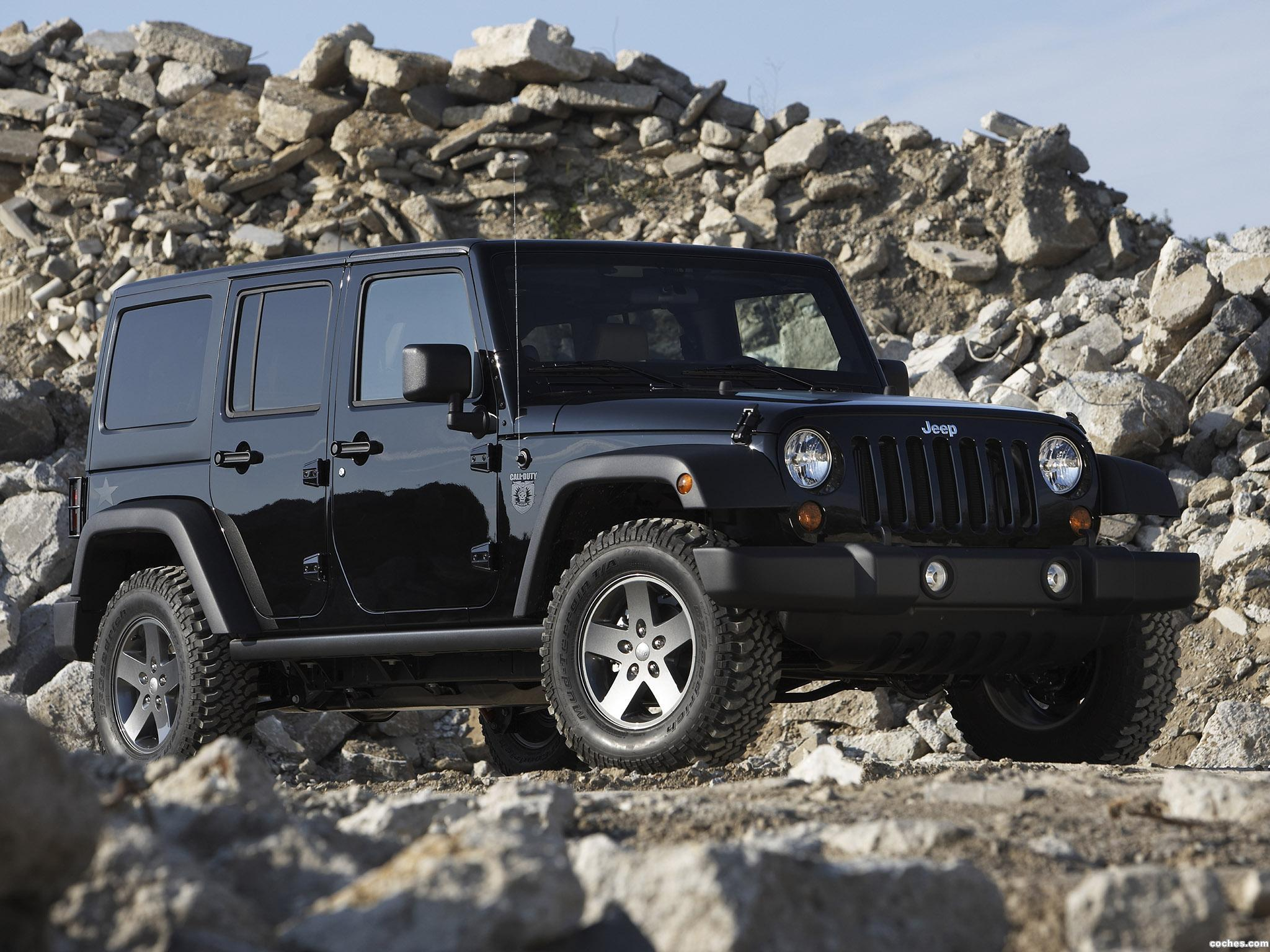 Foto 0 de Jeep Wrangler Call Of Duty Black Ops Edition 2010