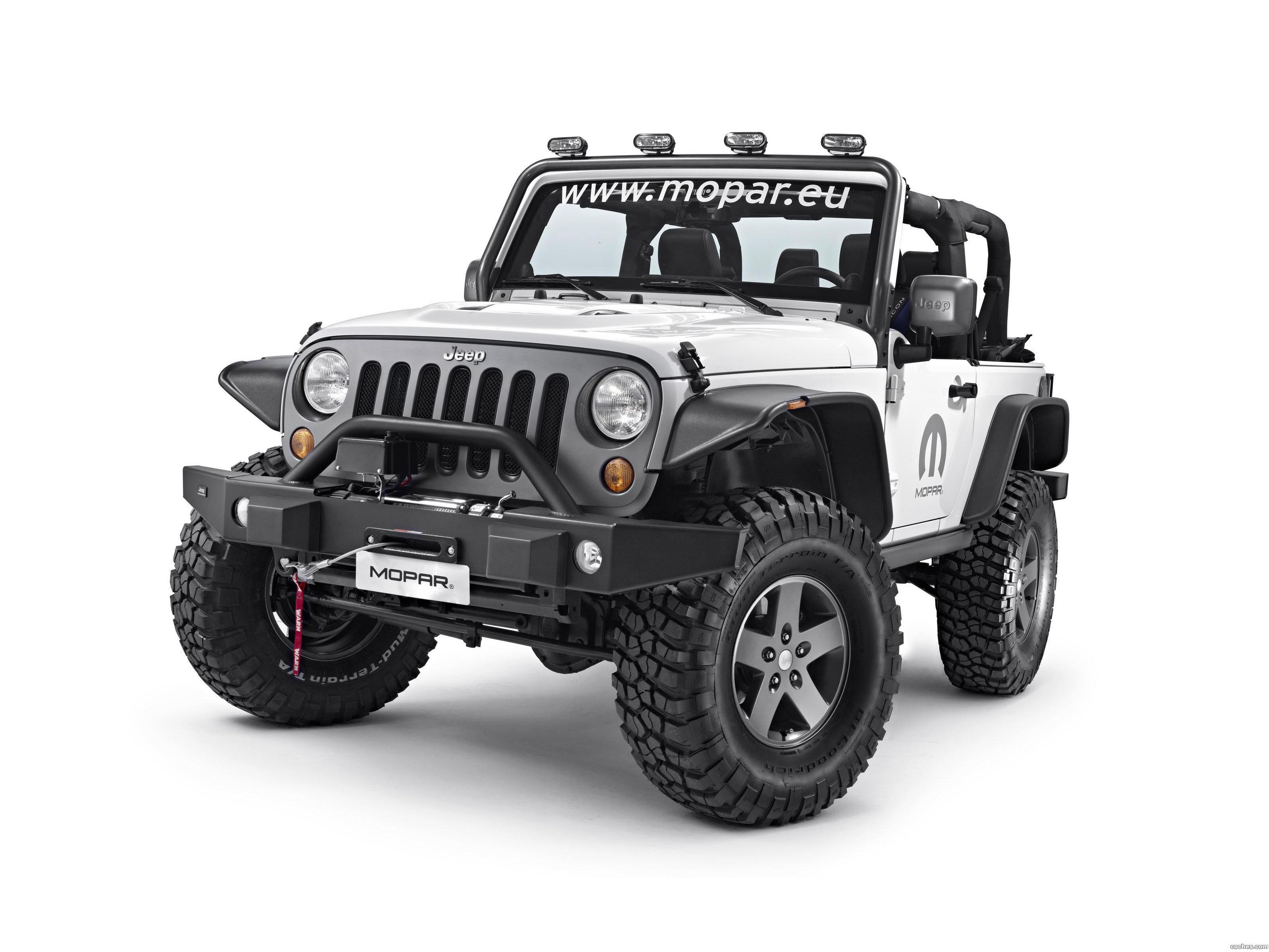 Foto 0 de Jeep Wrangler Dark Side Concept 2015