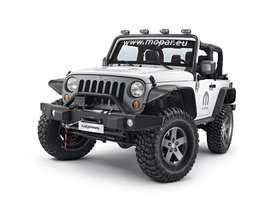 Ver foto 1 de Jeep Wrangler Dark Side Concept 2015