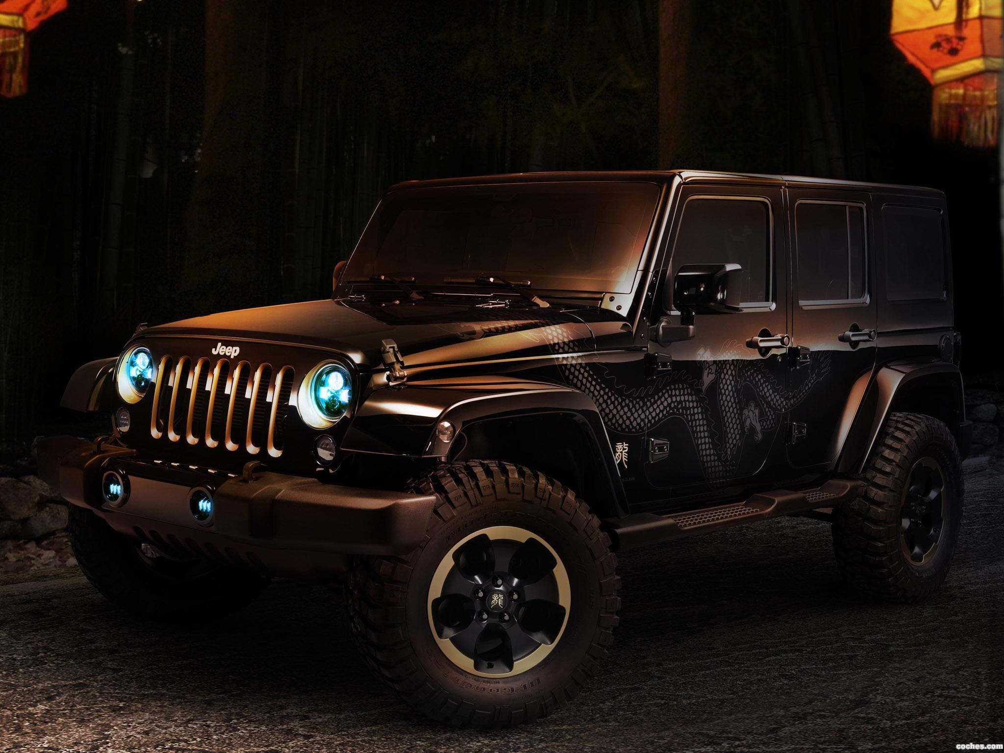 Foto 0 de Jeep Wrangler Dragon Concept 2012