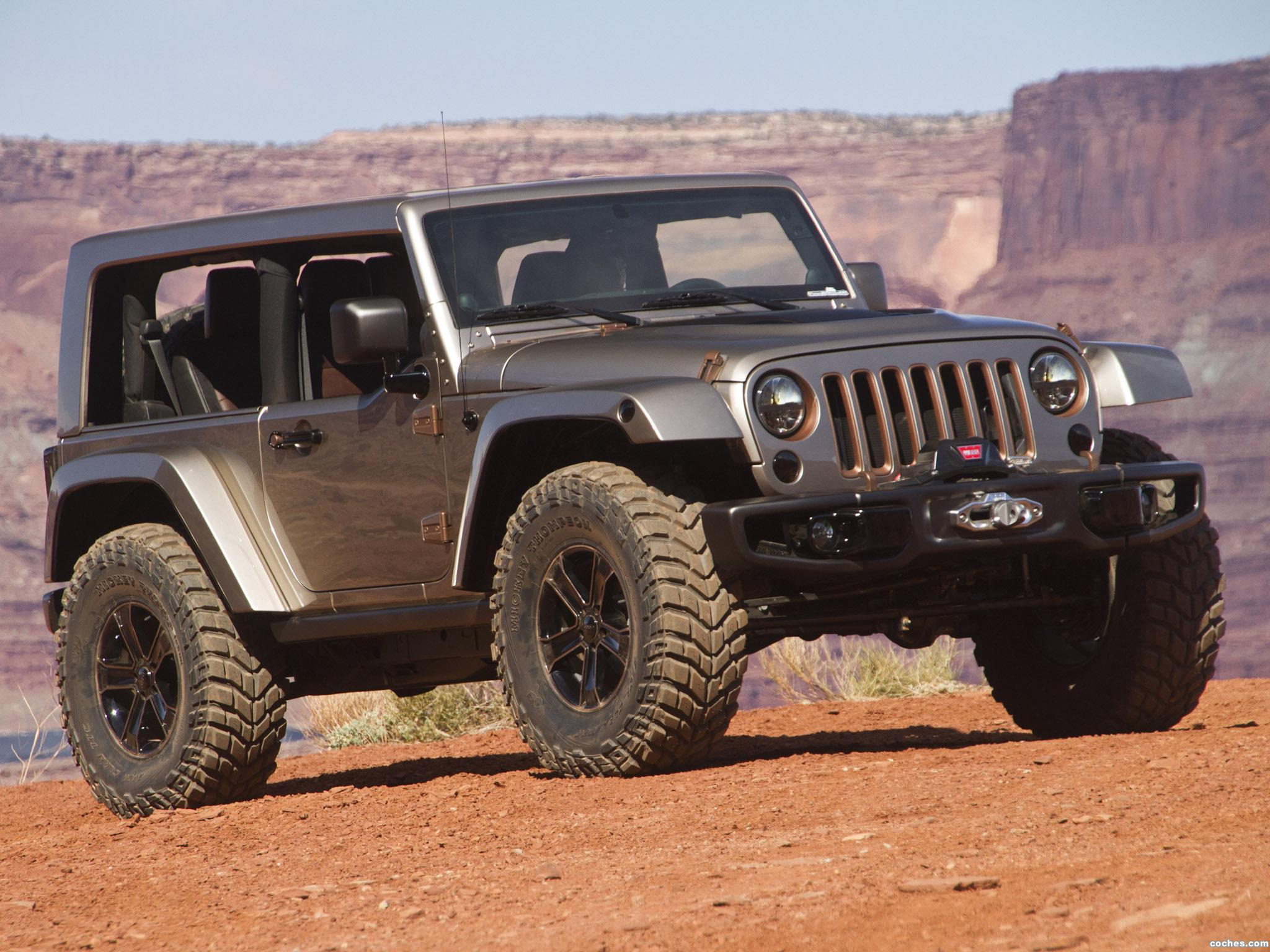 Foto 0 de Jeep Wrangler Mopar Flattop Concept 2013