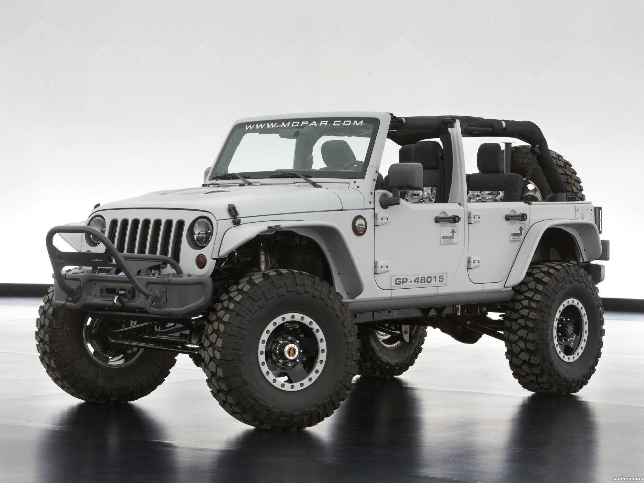 Foto 4 de Jeep  Wrangler Mopar Recon Concept 2013