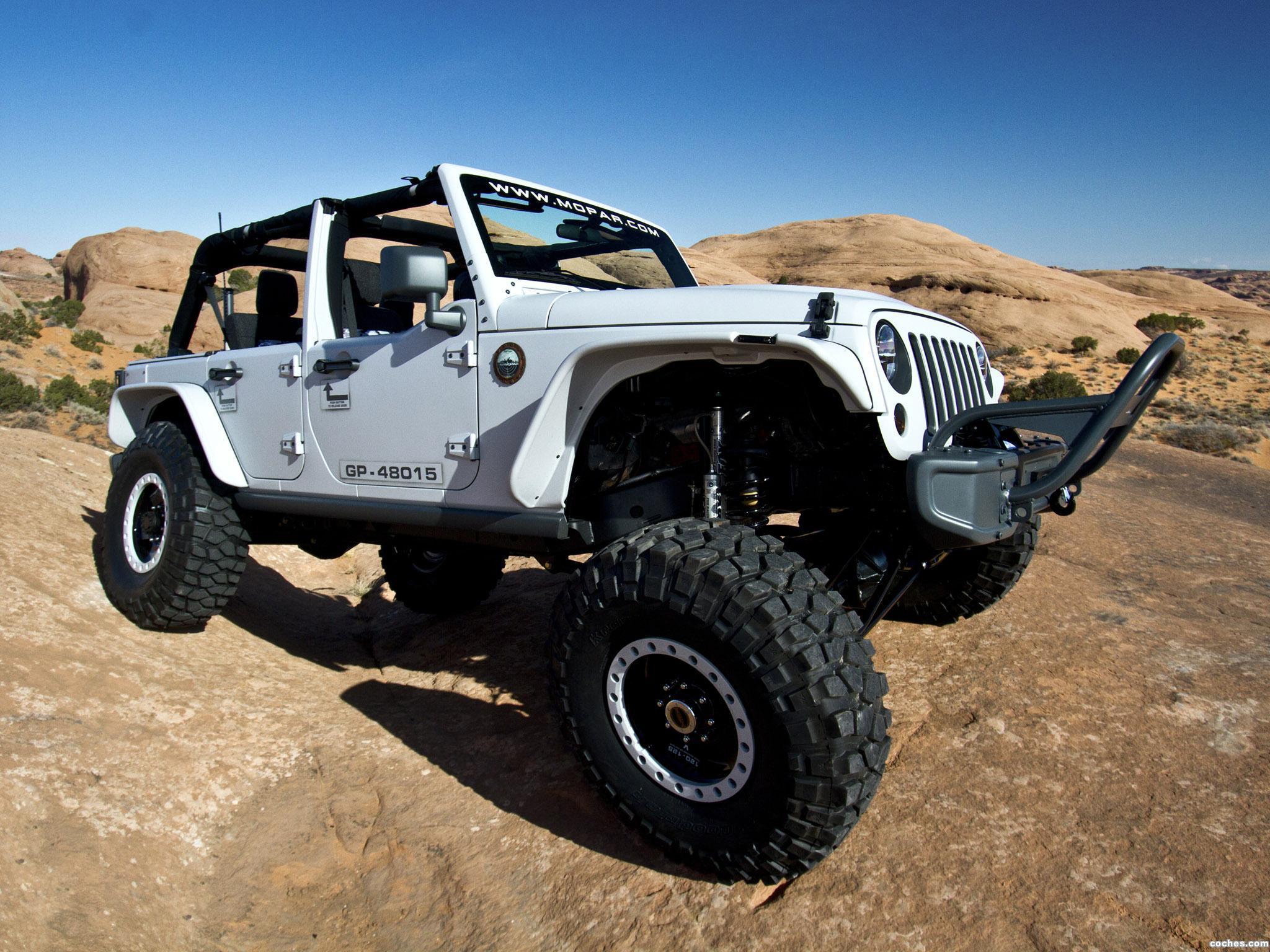 Foto 0 de Jeep  Wrangler Mopar Recon Concept 2013