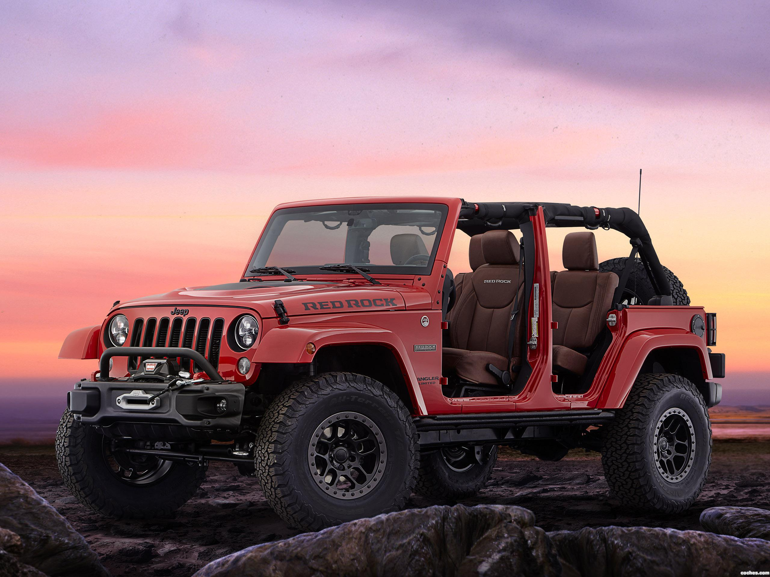 Foto 0 de Jeep Wrangler Red Rock Concept 2015