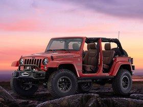 Ver foto 1 de Jeep Wrangler Red Rock Concept 2015