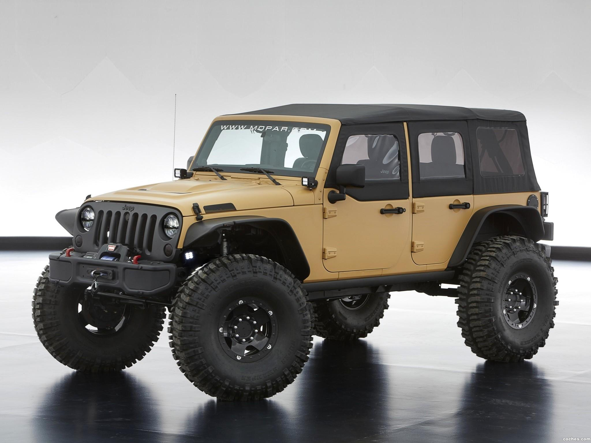 Foto 3 de Jeep Wrangler Sand Trooper II Concept 2013