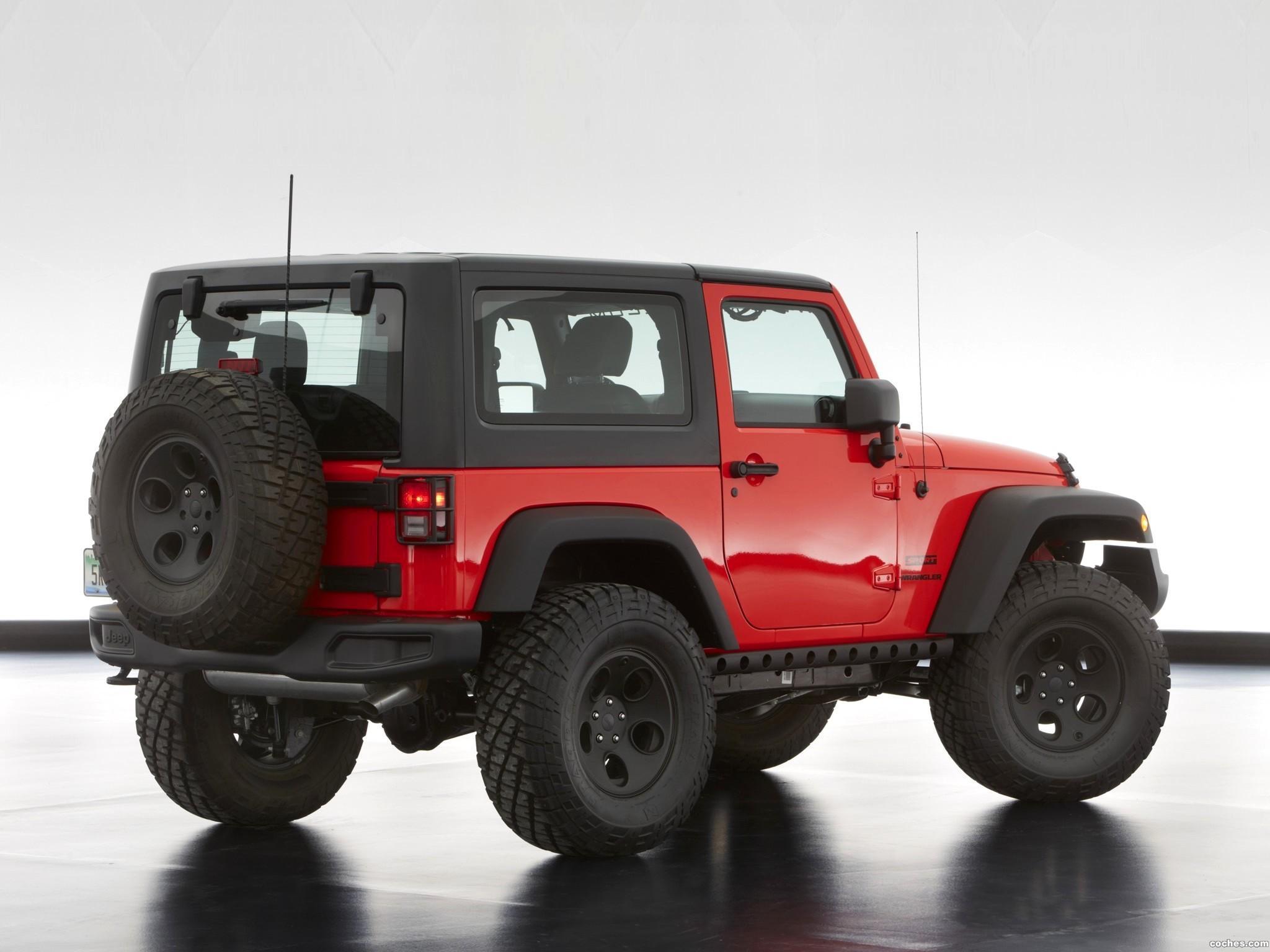 Foto 5 de Jeep Wrangler Slim Concept 2013