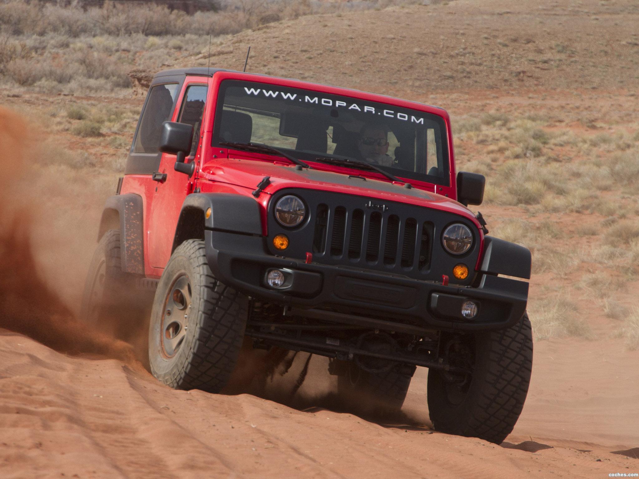 Foto 0 de Jeep Wrangler Slim Concept 2013