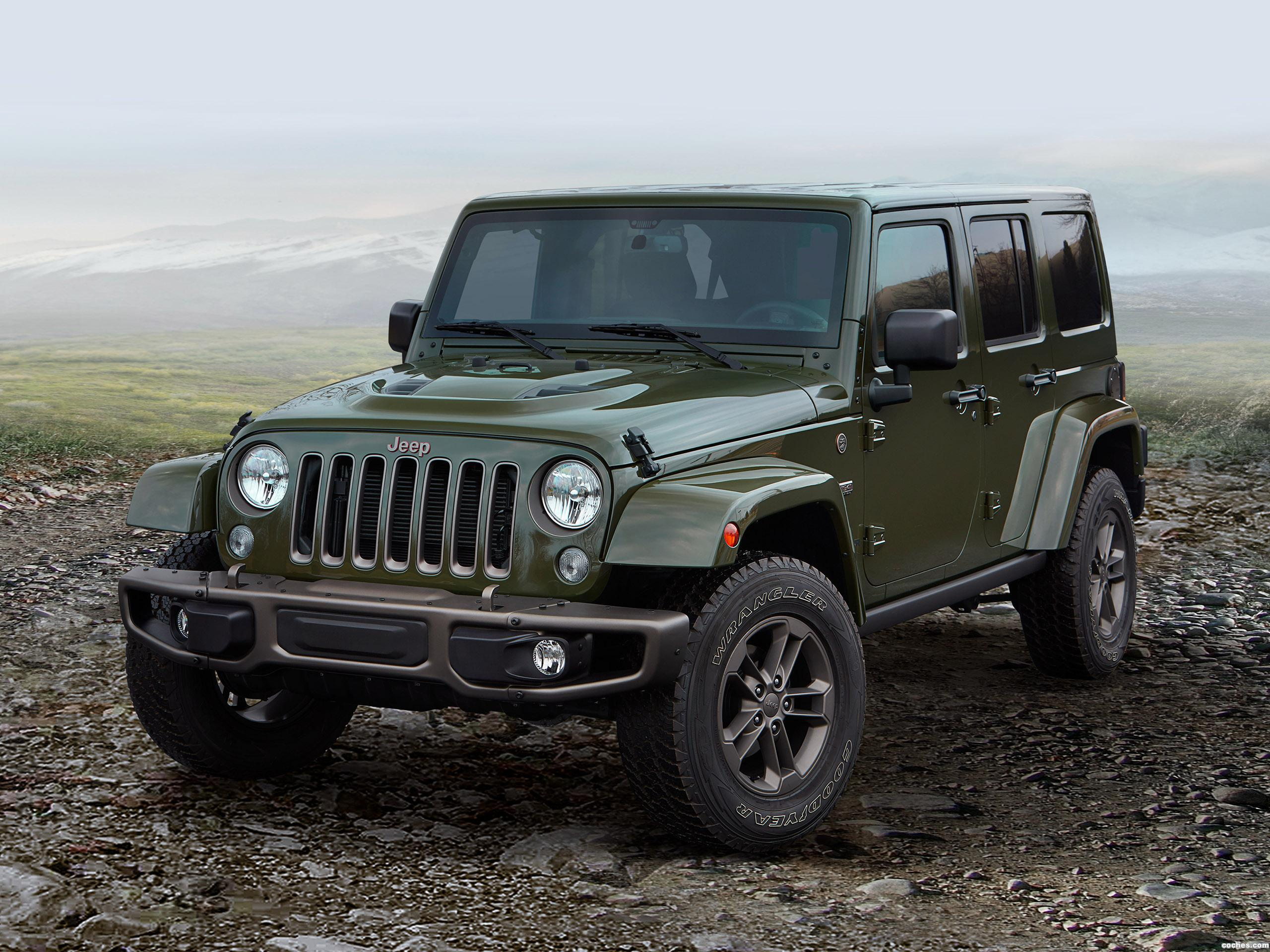 Foto 0 de Jeep Wrangler Unlimited 75th Anniversary 2016