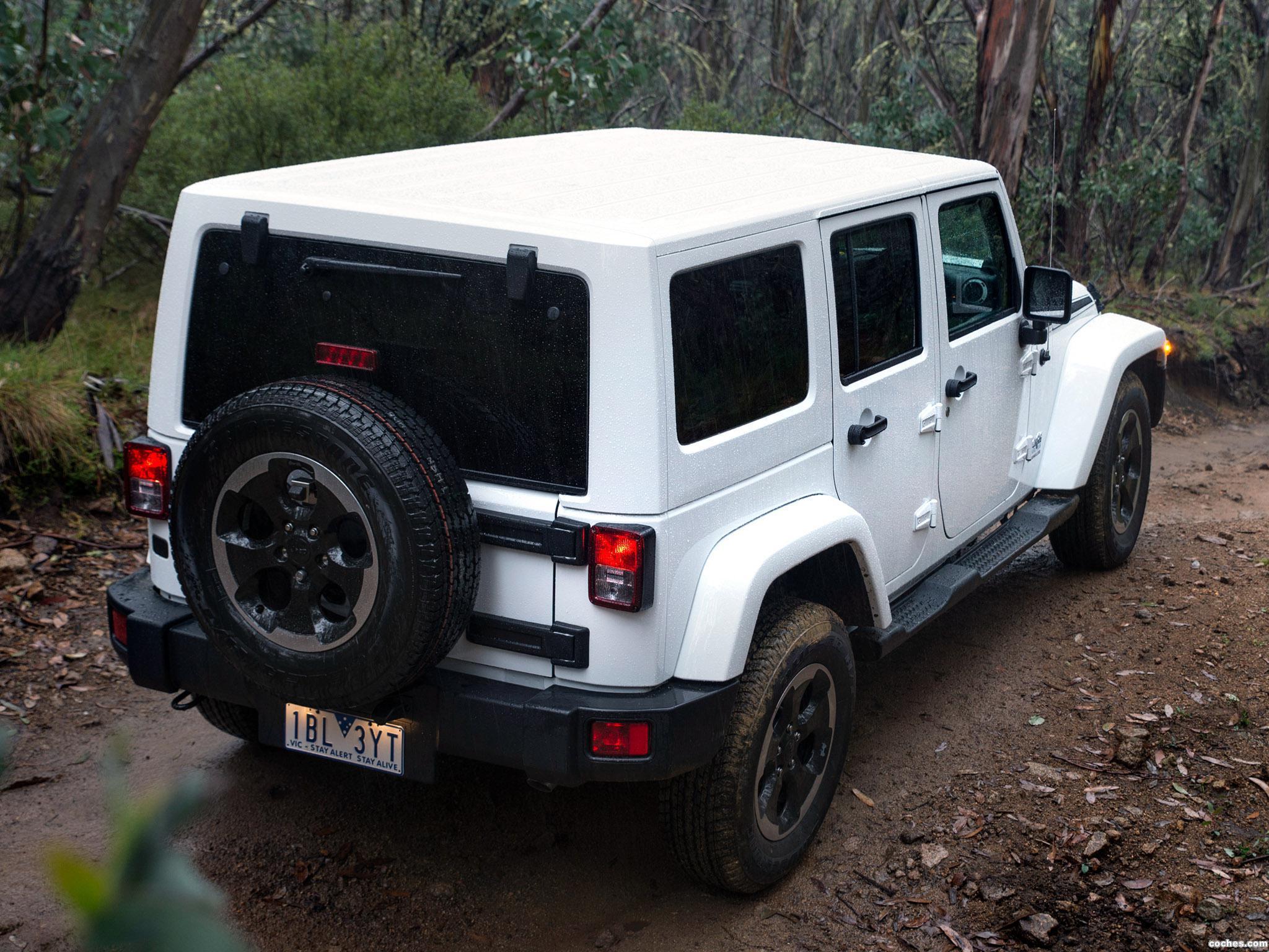 fotos de jeep wrangler unlimited polar australia 2014 foto 1. Black Bedroom Furniture Sets. Home Design Ideas
