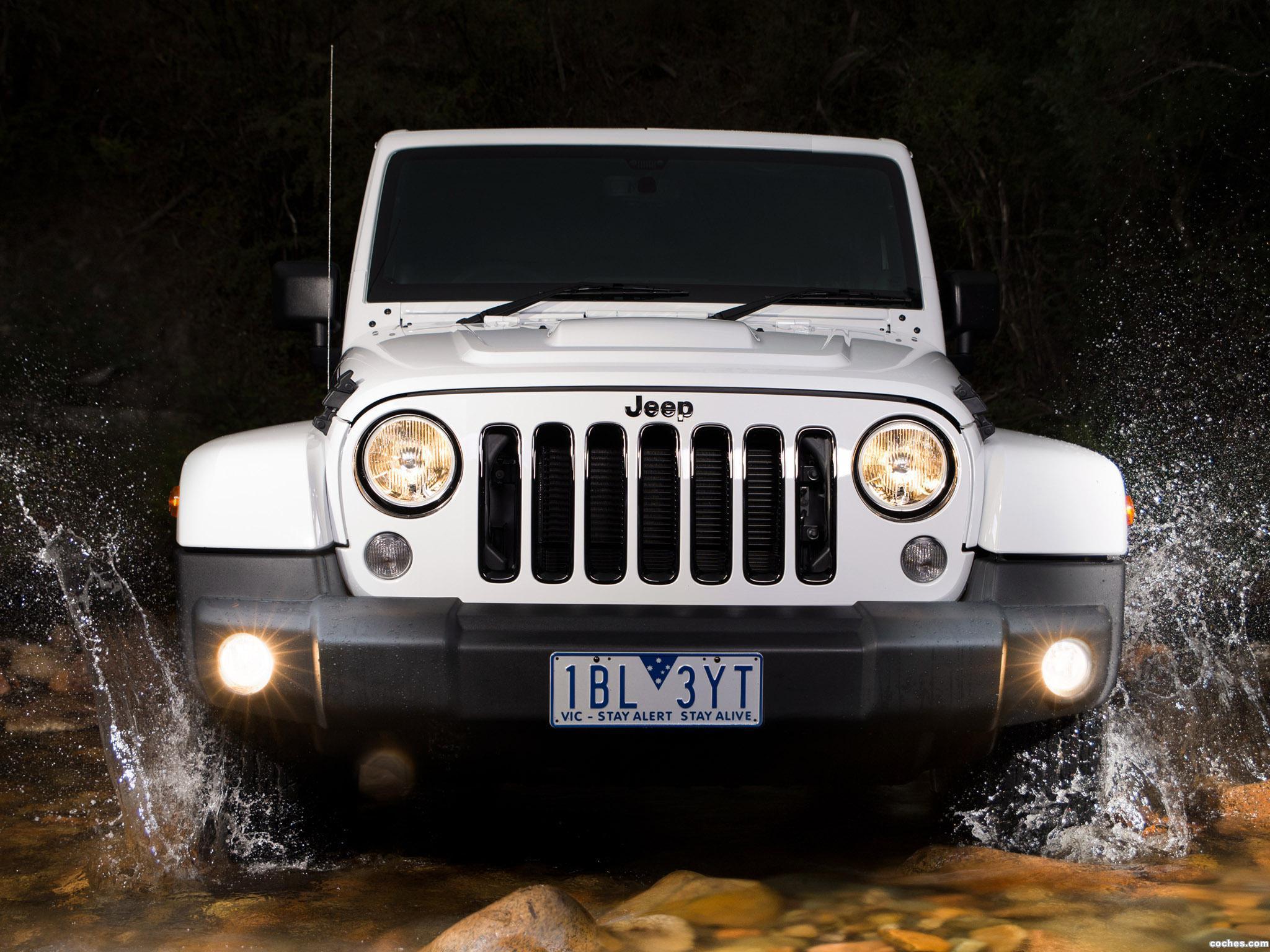 Foto 0 de Jeep Wrangler Unlimited Polar Australia 2014