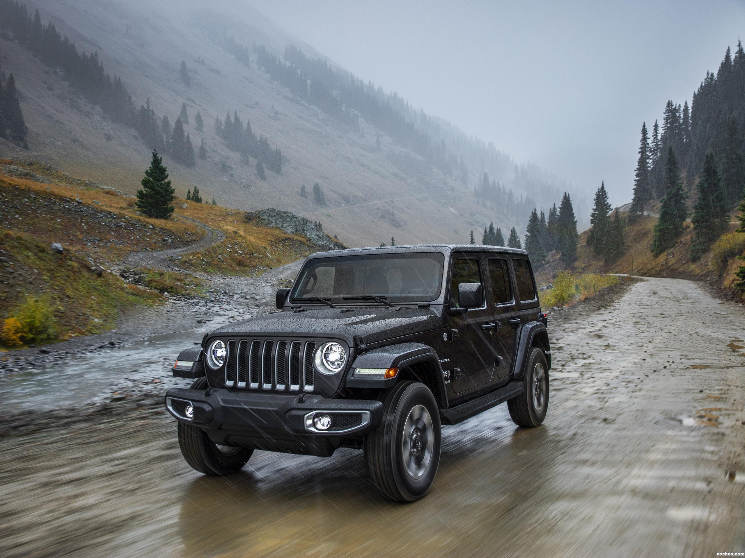 Fotos de Jeep Wrangler Unlimited Sahara USA 2018 | Foto 25
