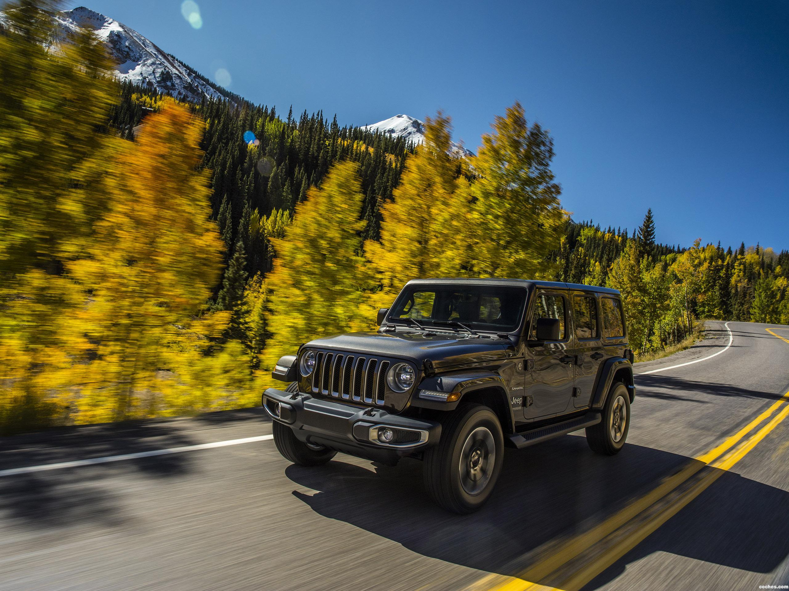 Foto 0 de Jeep Wrangler Unlimited Sahara USA 2018