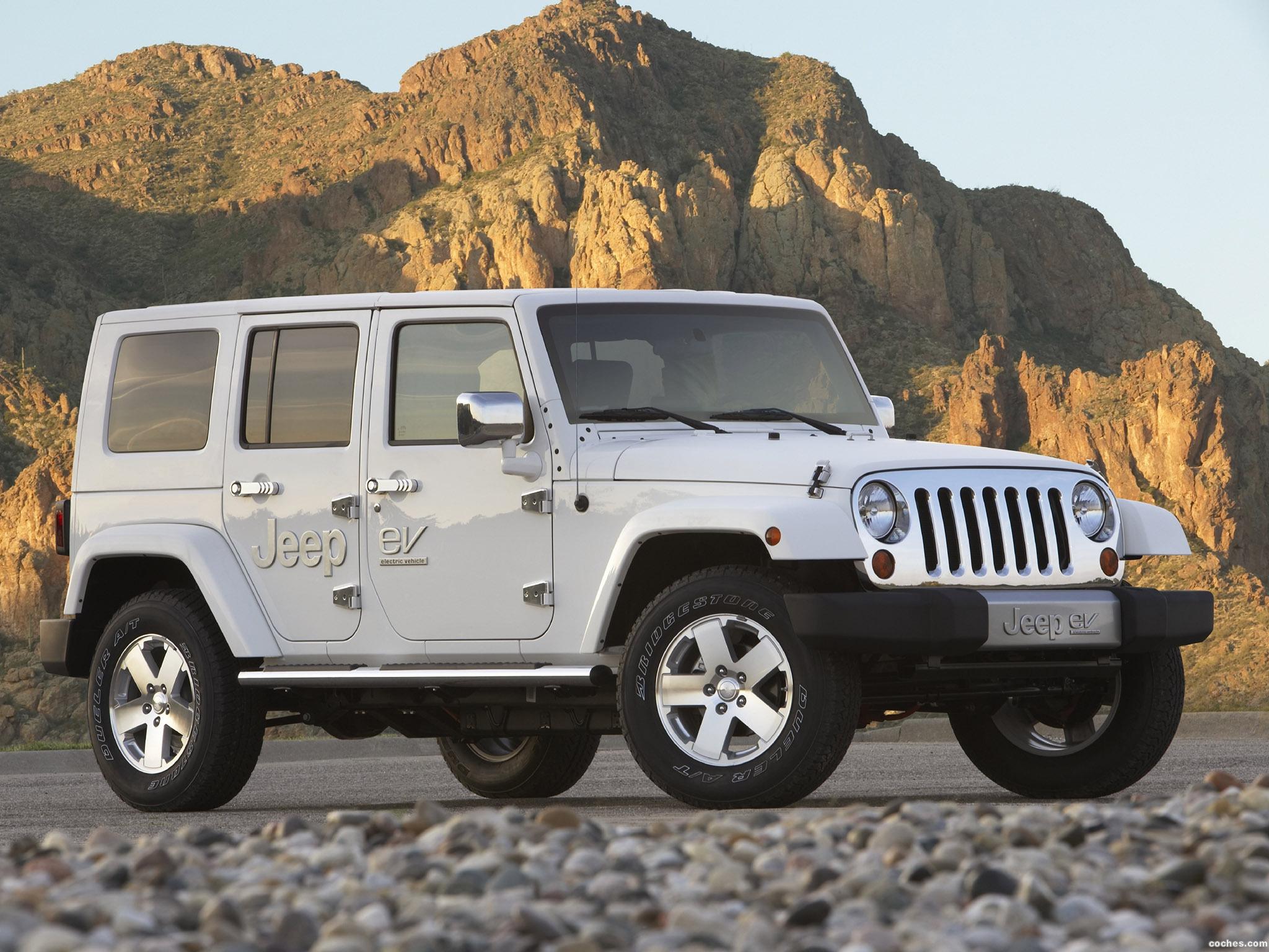 Foto 0 de Jeep Wrangler eV Prototype 2008