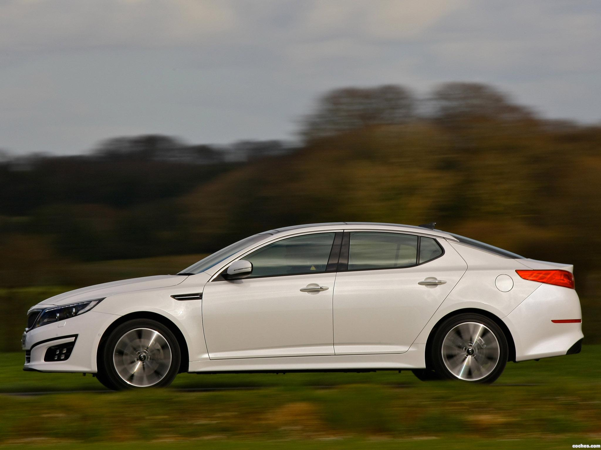Foto 9 de Kia Optima EcoDynamics UK 2014