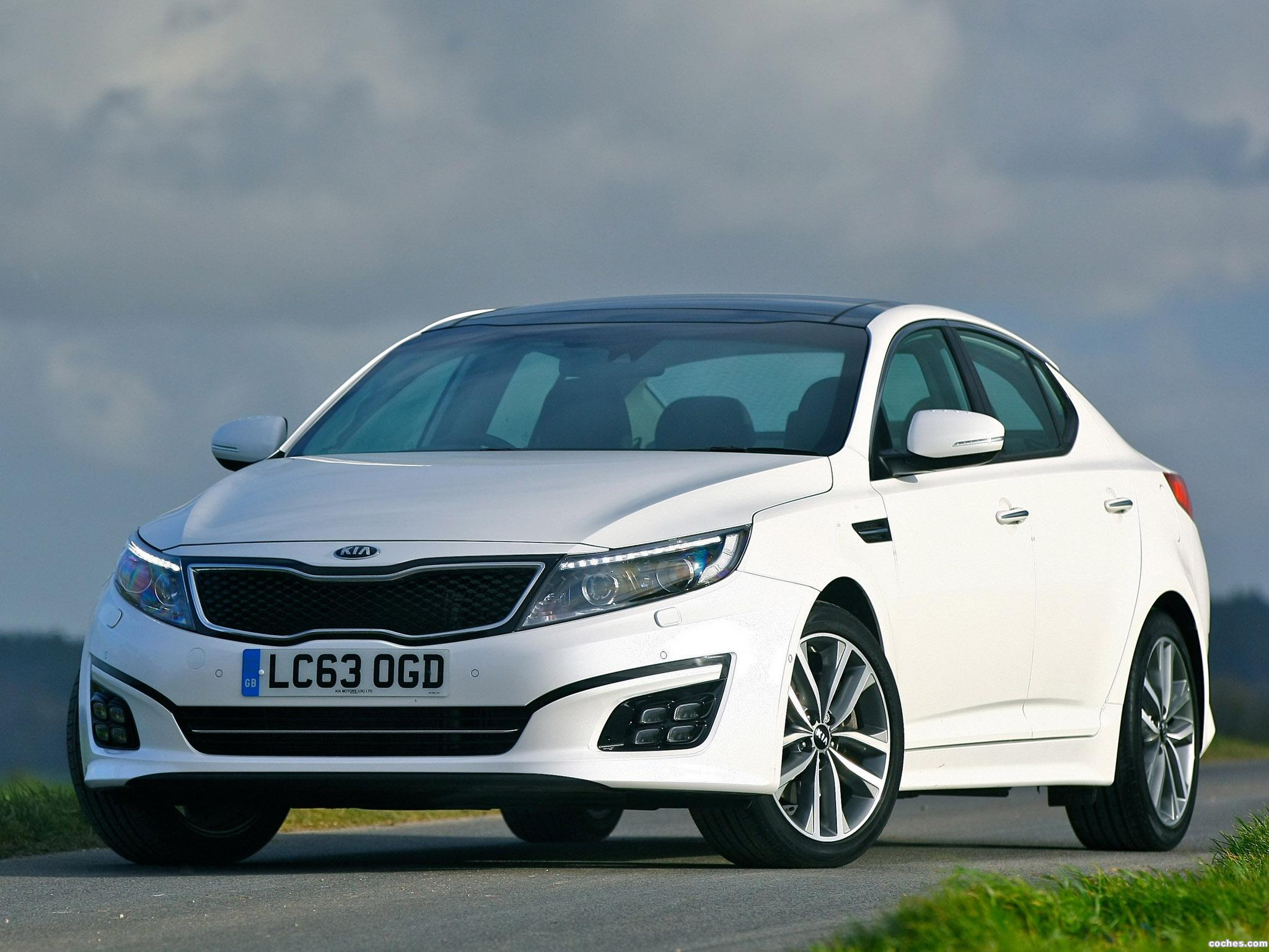 Foto 7 de Kia Optima EcoDynamics UK 2014