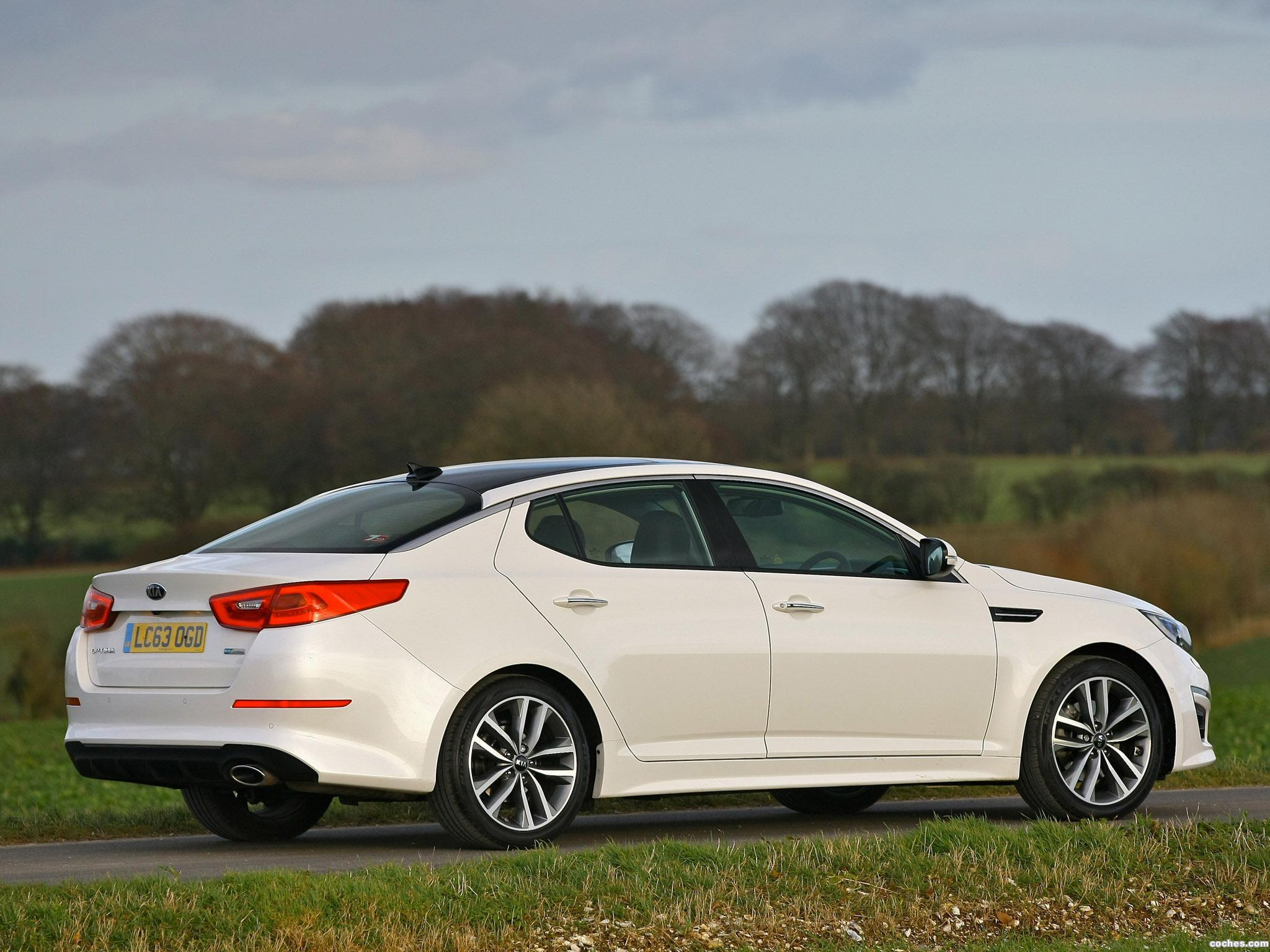 Foto 5 de Kia Optima EcoDynamics UK 2014