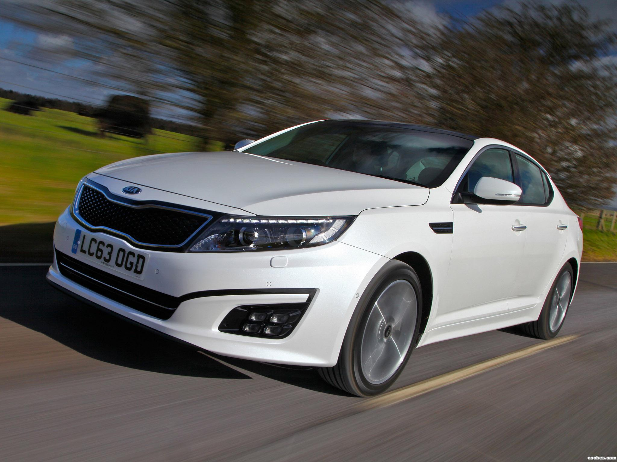 Foto 2 de Kia Optima EcoDynamics UK 2014