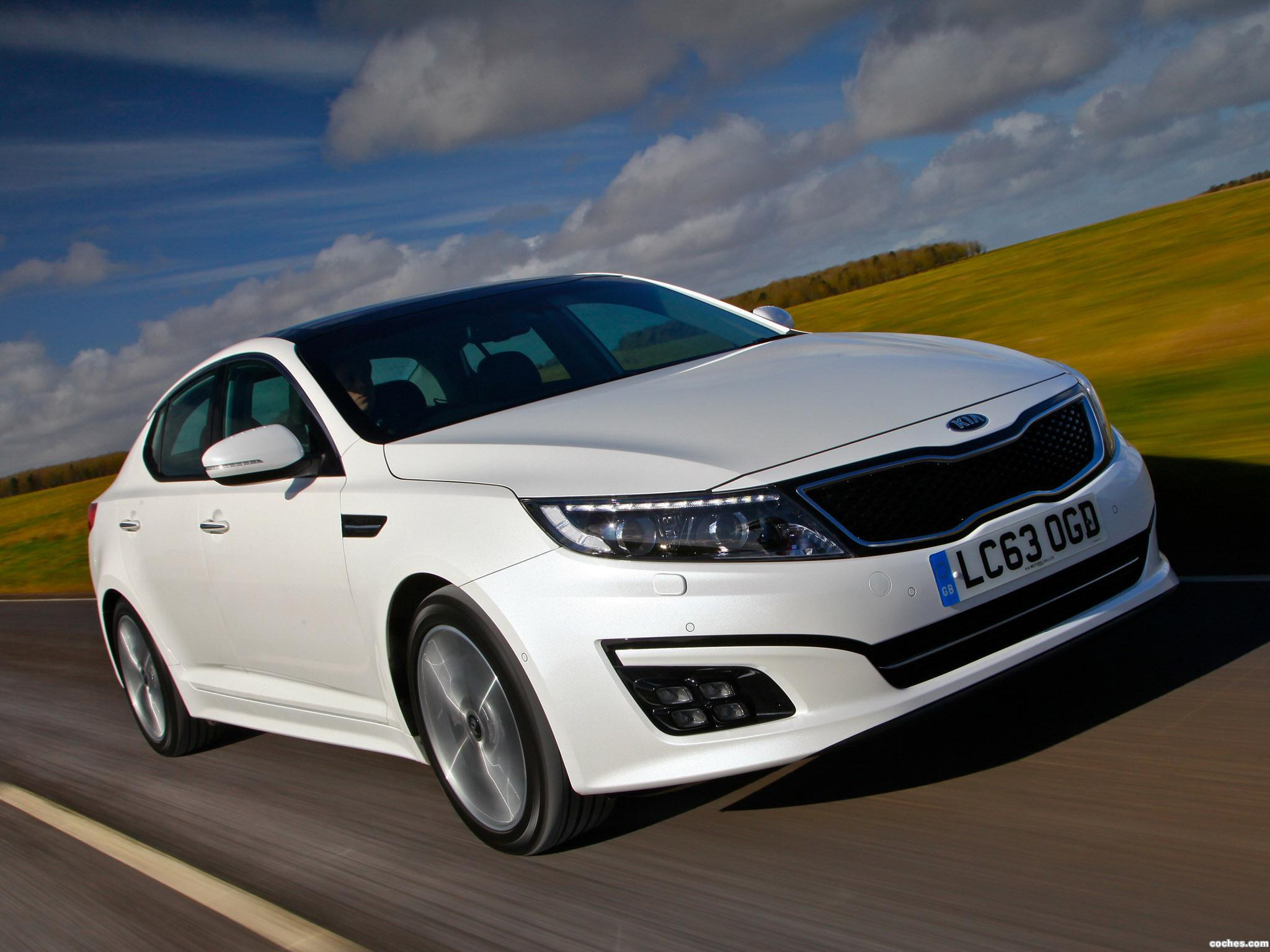 Foto 1 de Kia Optima EcoDynamics UK 2014