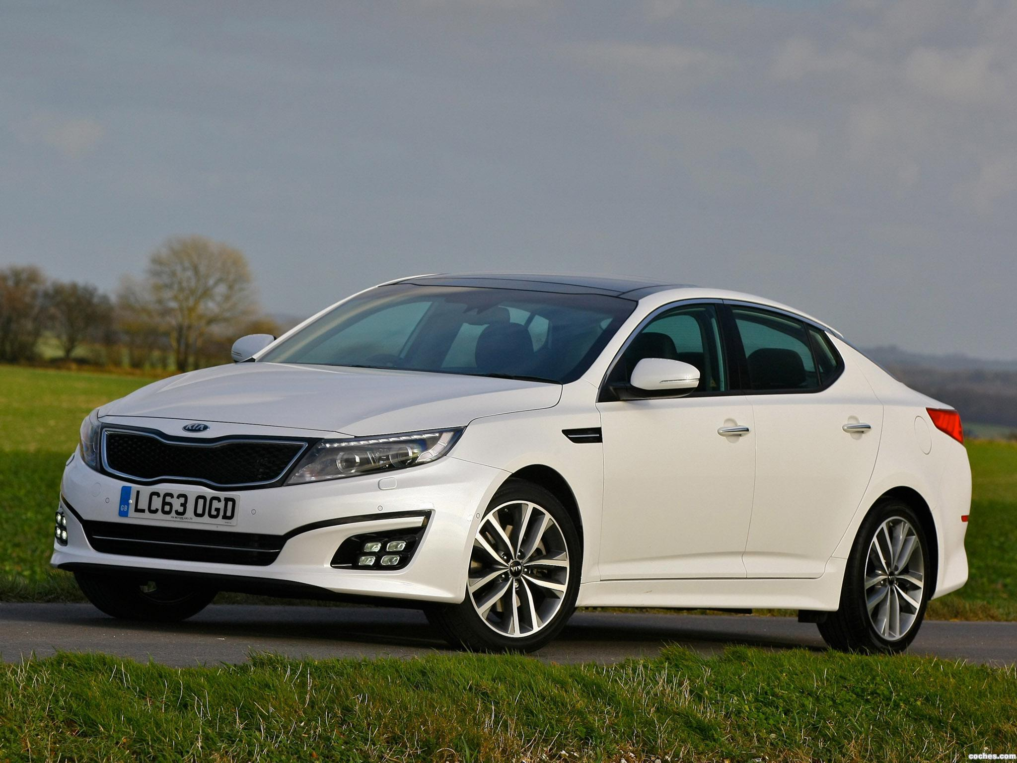 Foto 0 de Kia Optima EcoDynamics UK 2014