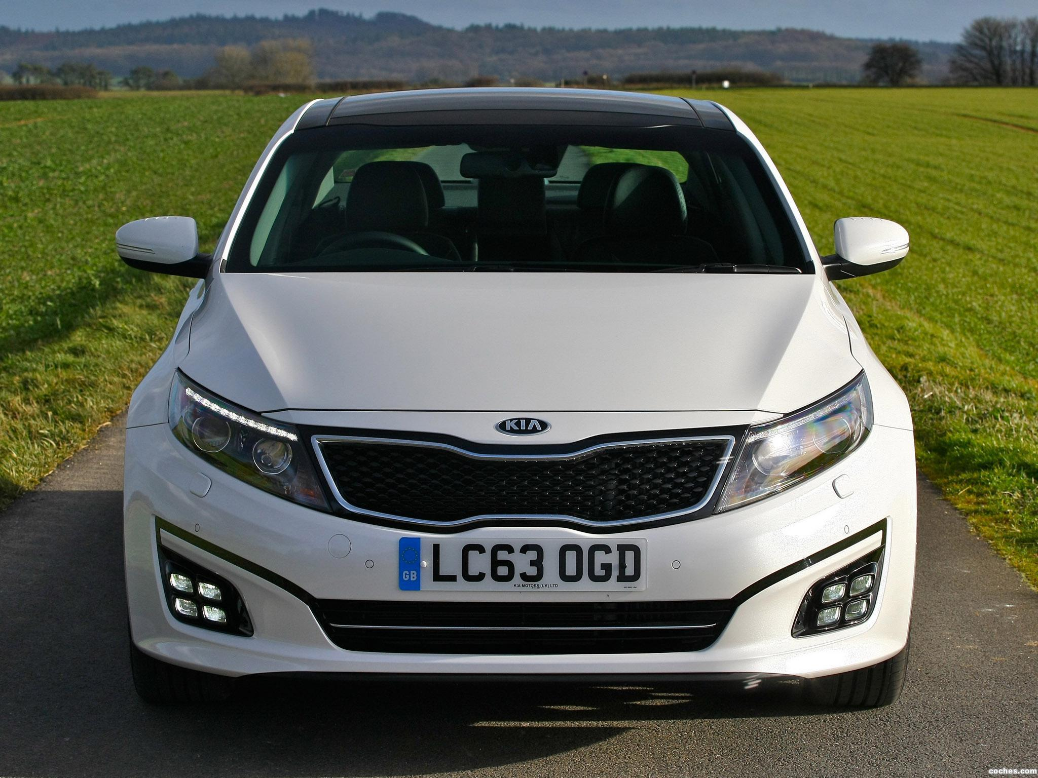 Foto 15 de Kia Optima EcoDynamics UK 2014