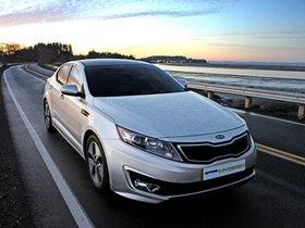 Ver foto 3 de Kia Optima Hybrid 2011