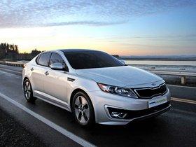 Ver foto 2 de Kia Optima Hybrid 2011