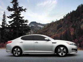 Ver foto 10 de Kia Optima Hybrid 2011